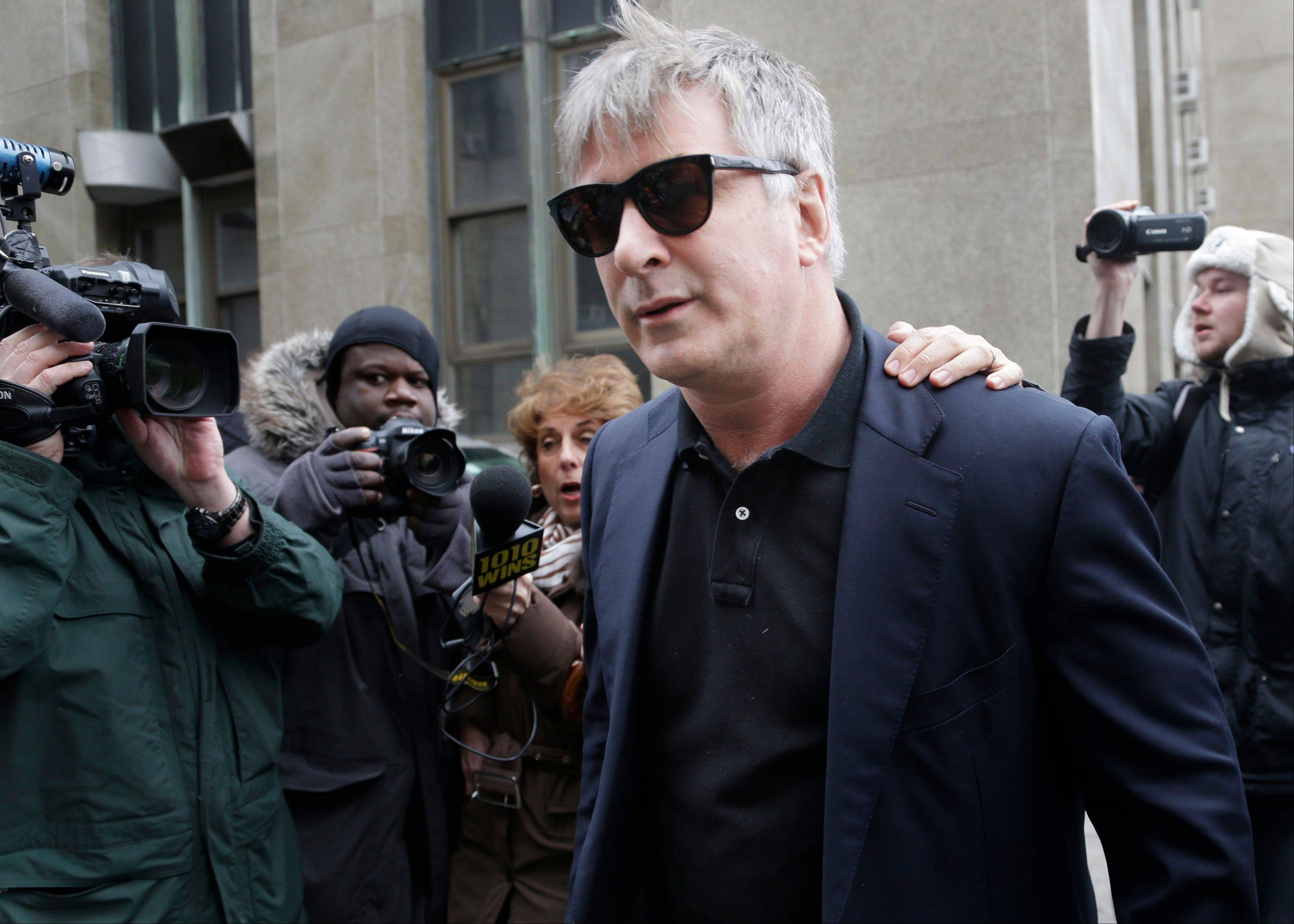 MSNBC and Alec Baldwin say they are ending the actor�s talk show, which was suspended for two weeks after the actor used an anti-gay slur against a photographer in a New York City street.
