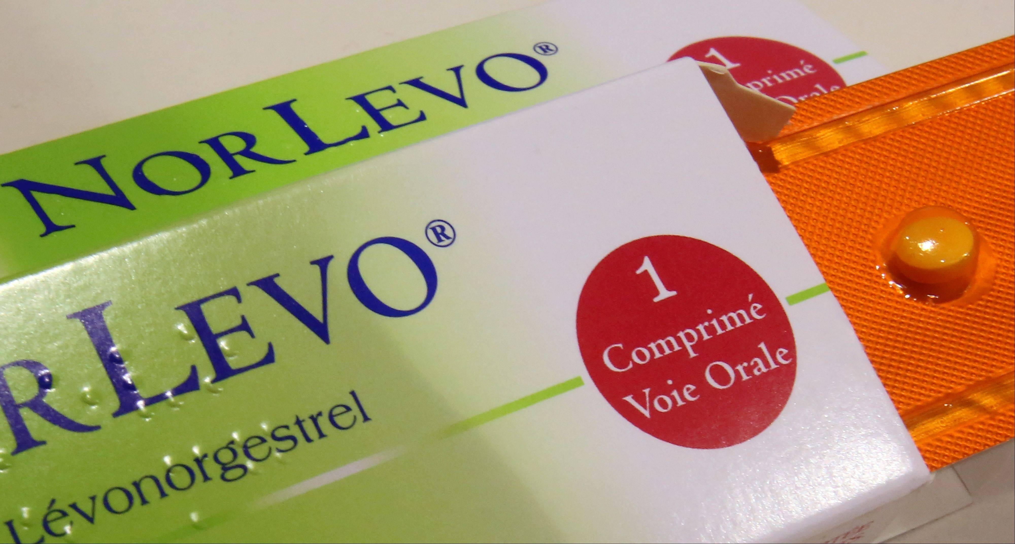 Boxes of Norlevo emergency contraceptive. HRA Pharma head will warn women following the publication of results of a study of levonorgestrel. The French contraceptive maker said Tuesday its morning-after pill is ineffective when taken by women who weigh more than 176 pounds.
