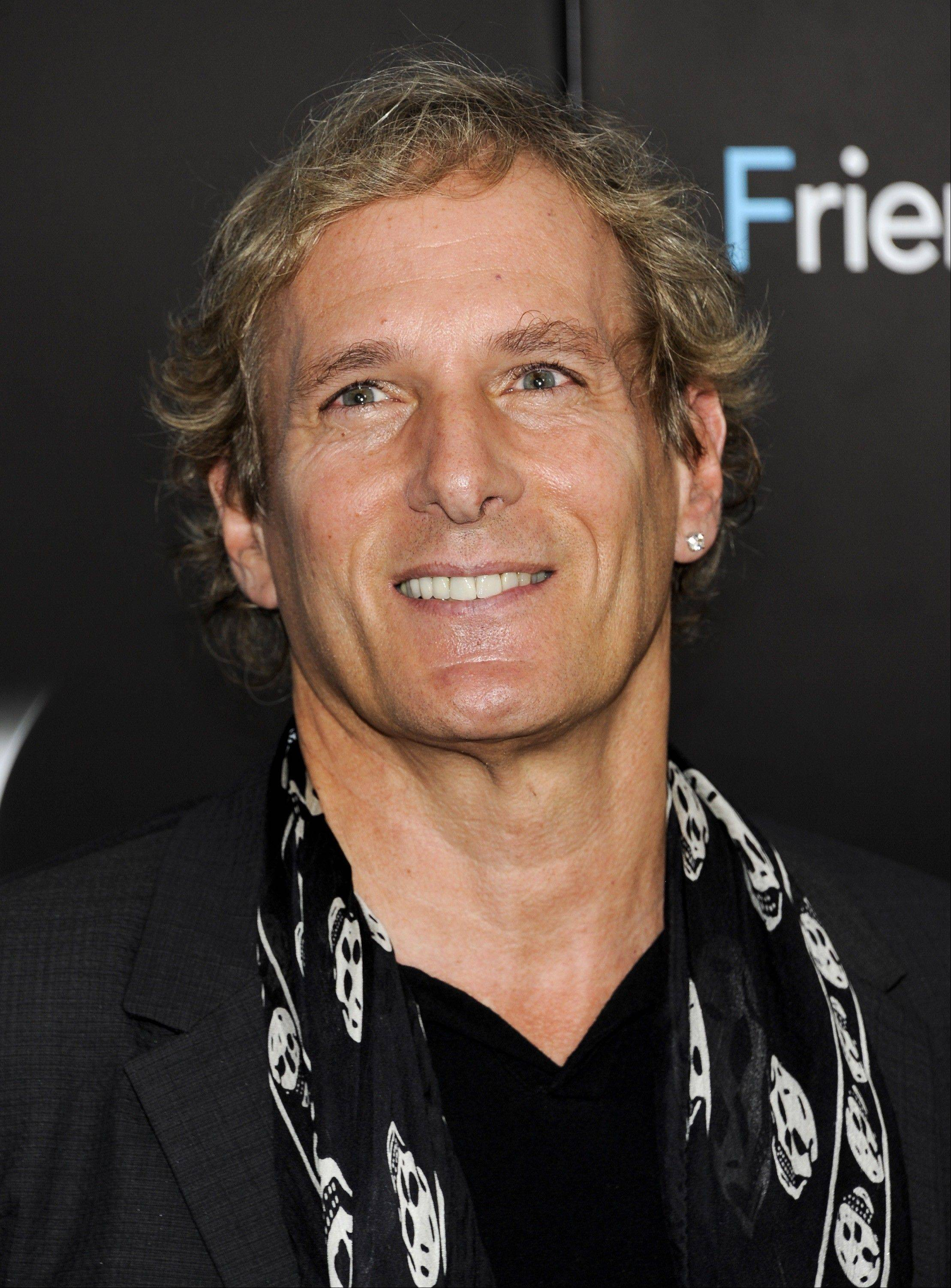 Michael Bolton headlines the Arcada in St. Charles Sunday.