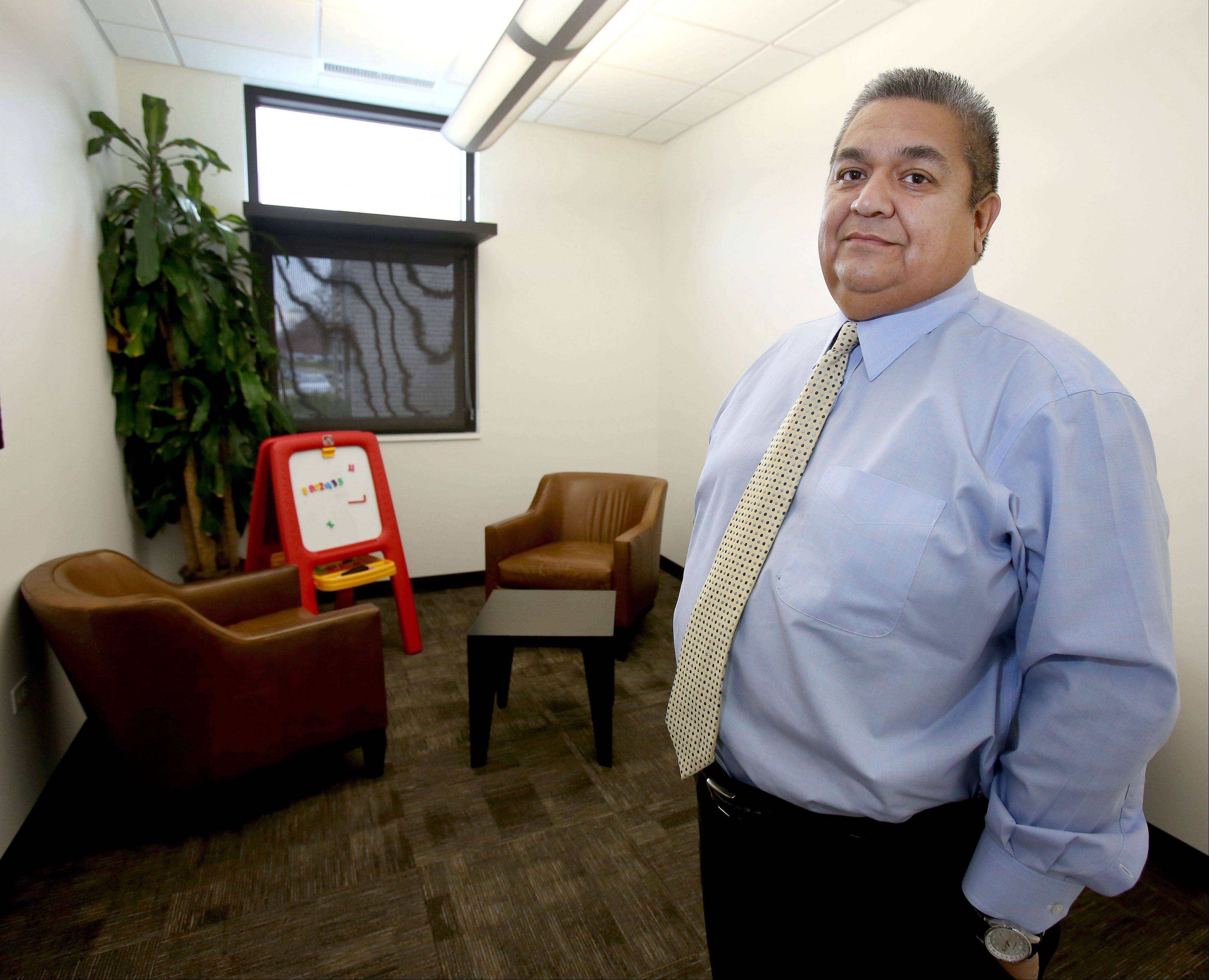 """Children are the most precious thing we have,"" says Robert Holguin, a senior criminal investigator at the Jeanine Nicarico Children's Advocacy Center in Wheaton."