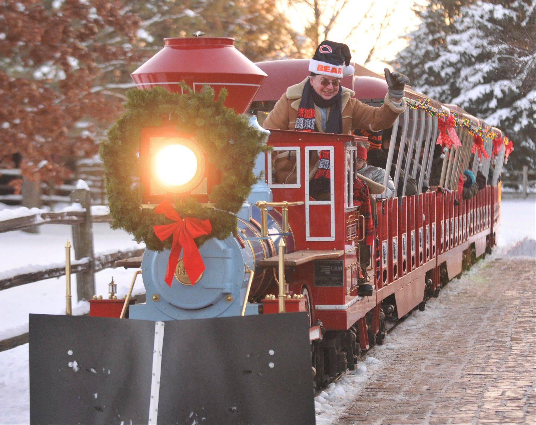 The Polar Express comes to life over three December weekends at Blackberry Farm in Aurora.