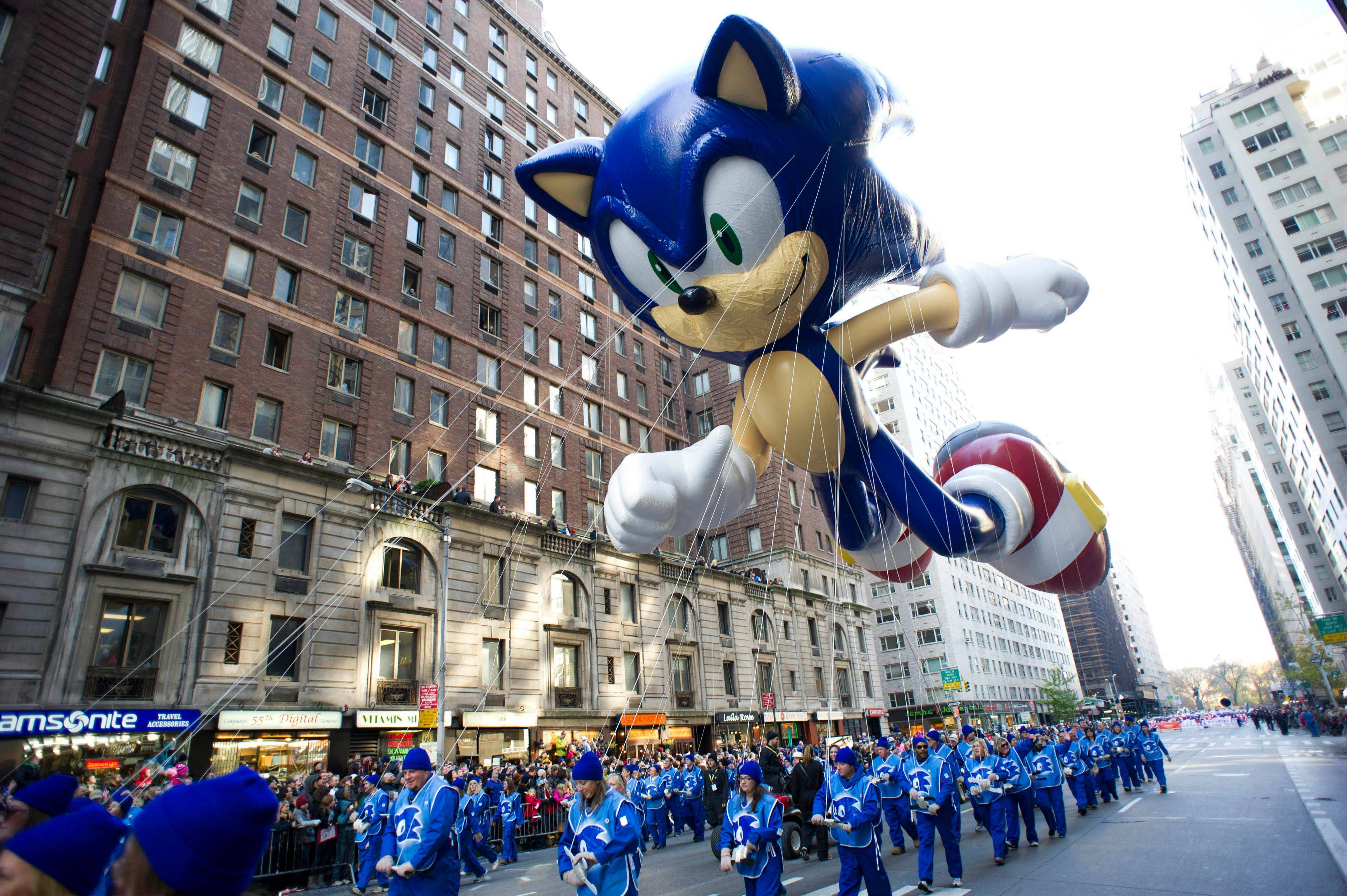 Macy's says it is closely monitoring the weather after recent forecasts predicted wind gusts up to 30 mph on Thanksgiving morning during the department store's upcoming Thanksgiving Day Parade. Based on New York City guidelines, no giant balloons will be operated if the wind gusts exceed 34 mph.