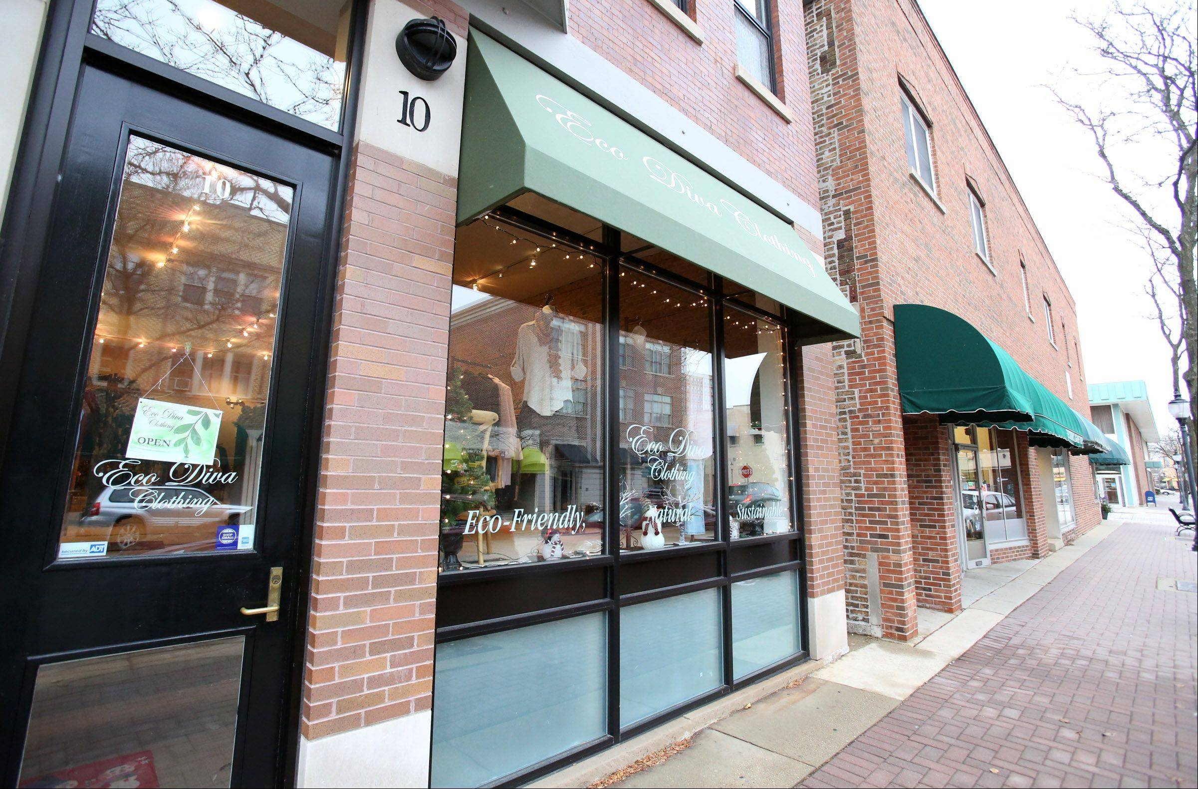 Eco Diva Clothing in downtown Arlington Heights will participate in Small Business Saturday, a special promotional day to highlight small, local companies.
