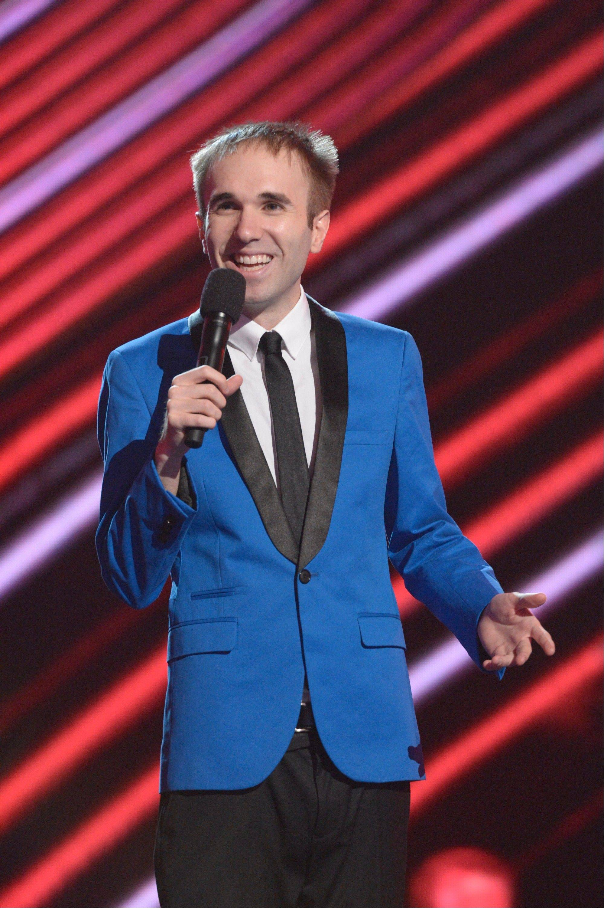 "Comedian Taylor Williamson of ""America's Got Talent"" comes to the Improv Comedy Showcase in Schaumburg this weekend."