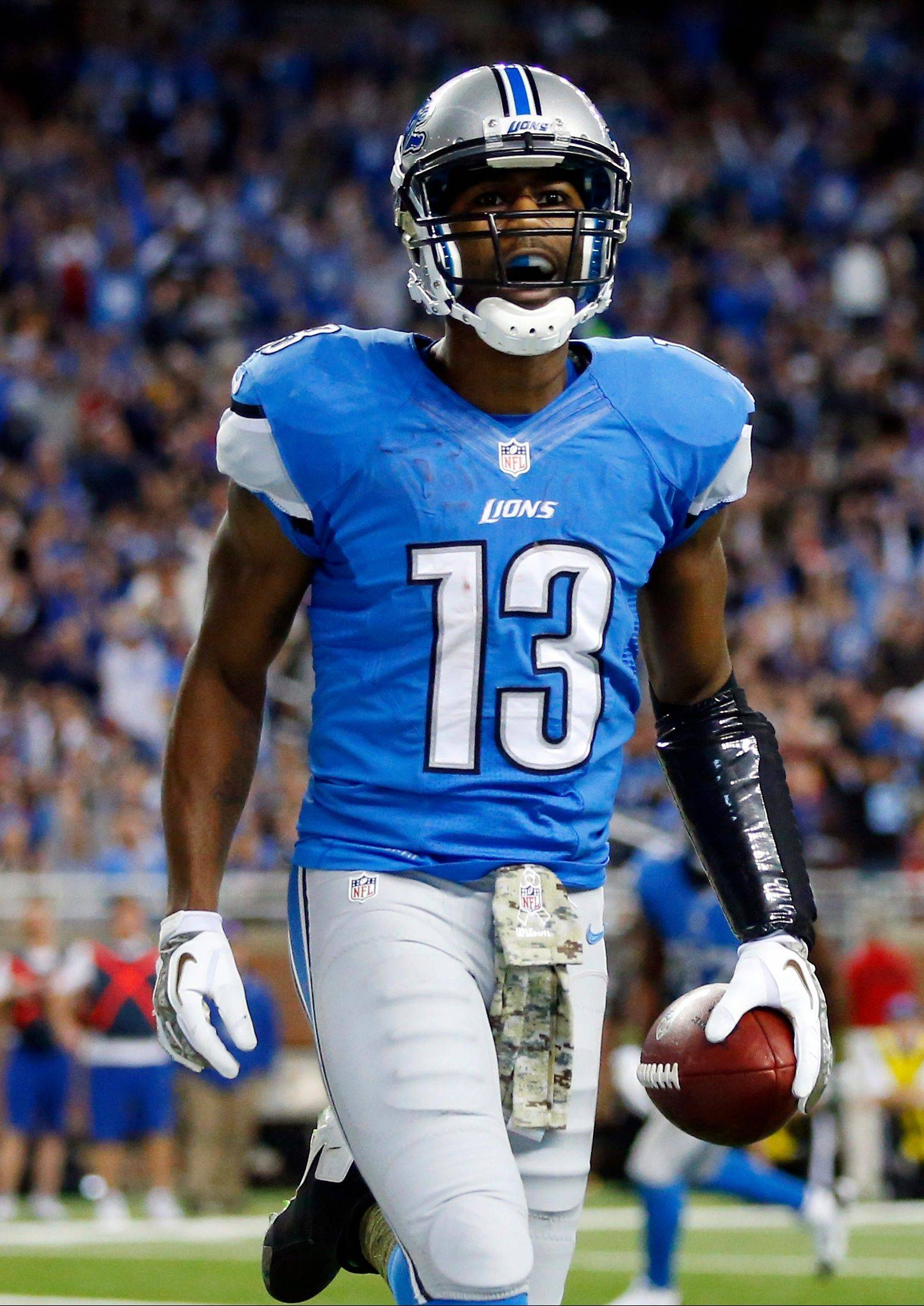 Lions wide receiver Nate Burleson returned last week and caught 7 passes for 77 yards with a touchdown. He's a good bet to put up some nice numbers on Turkey Day, according to John Dietz.