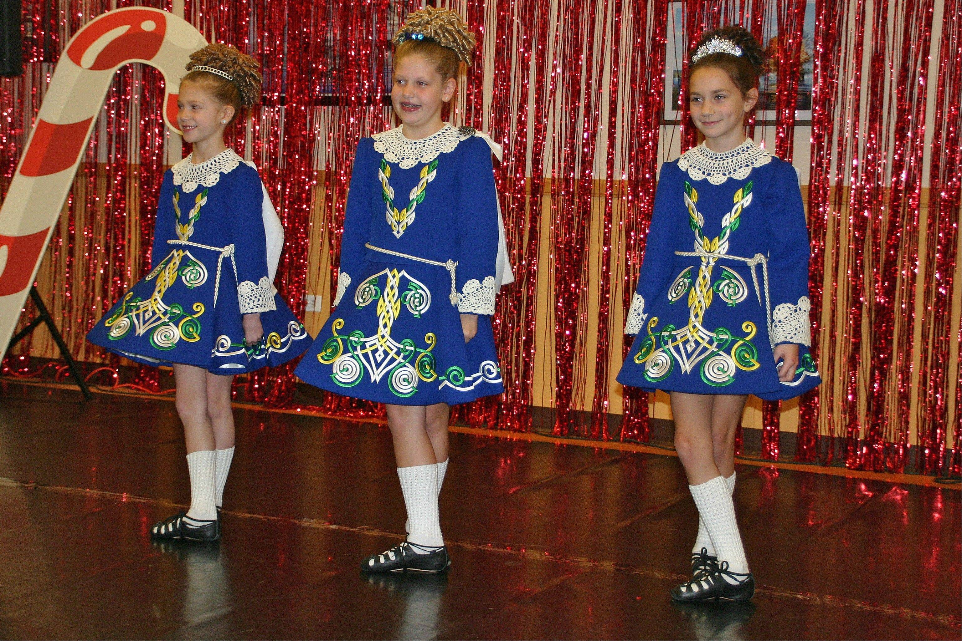 Cheer on the O'Hare Irish Dancers as they perform traditional jigs, group dances and the hardshoe at 2 p.m. on Sunday, Dec. 8.