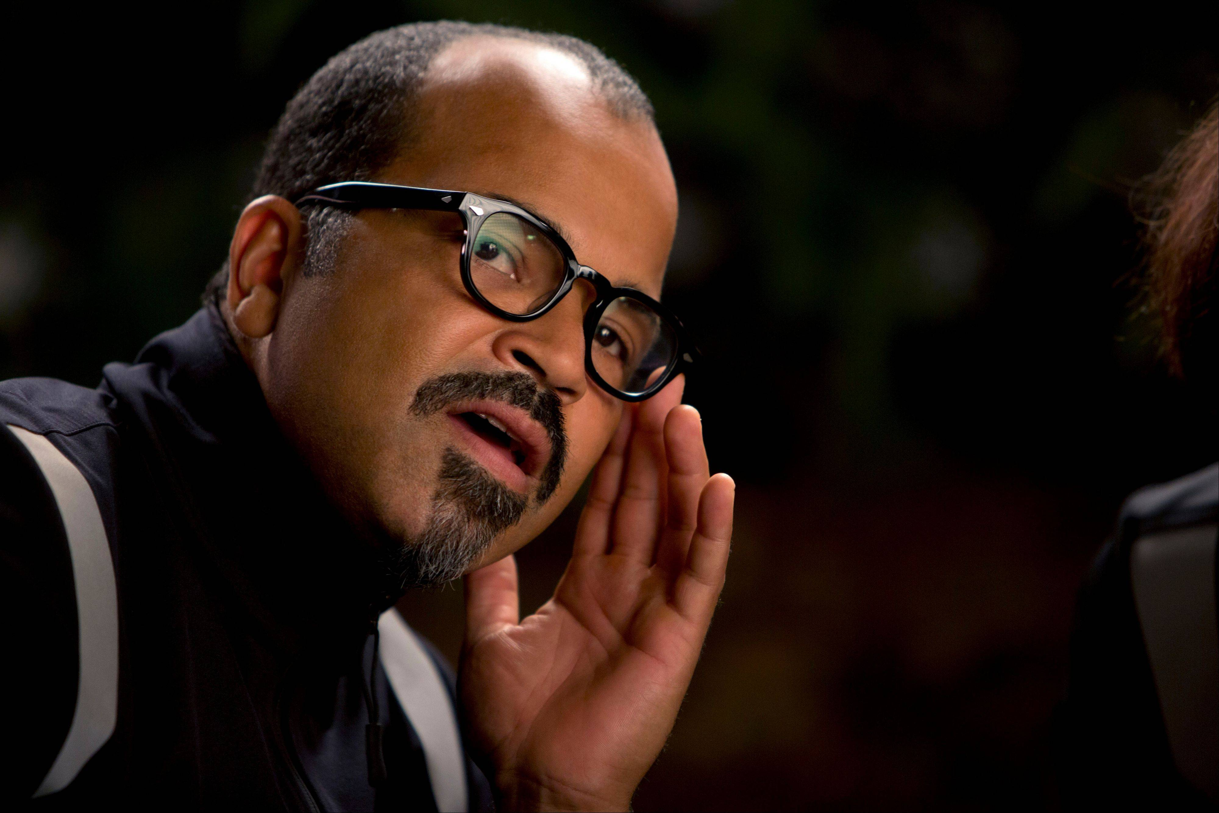"Jeffrey Wright plays Beetee in ""The Hunger Games: Catching Fire,"" which has been setting box office records worldwide."