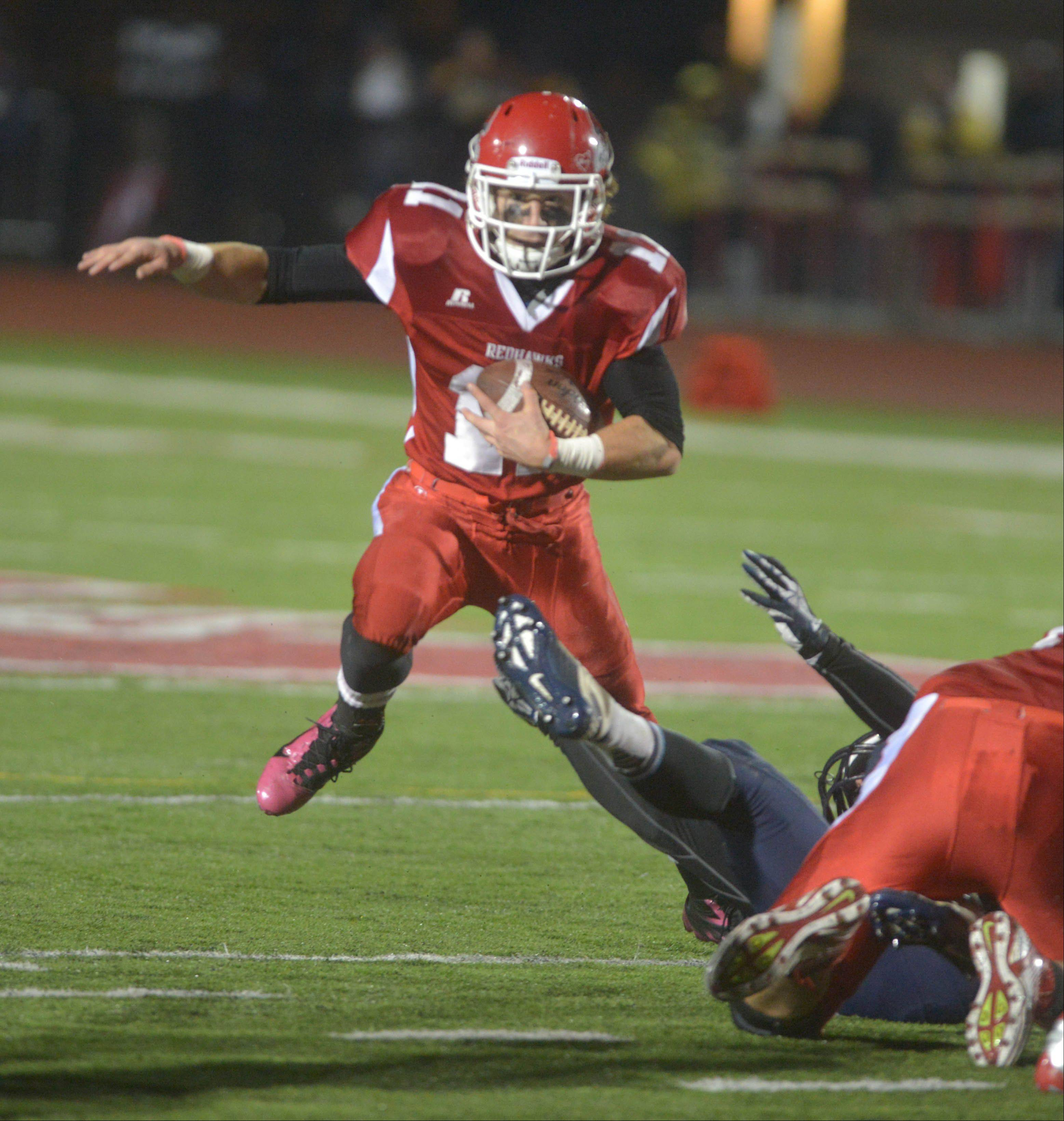 Ben Andreas and Naperville Central meet Loyola at 7 p.m. Saturday in the Class 8A state championship game at NIU's Huskie Stadium in DeKalb.