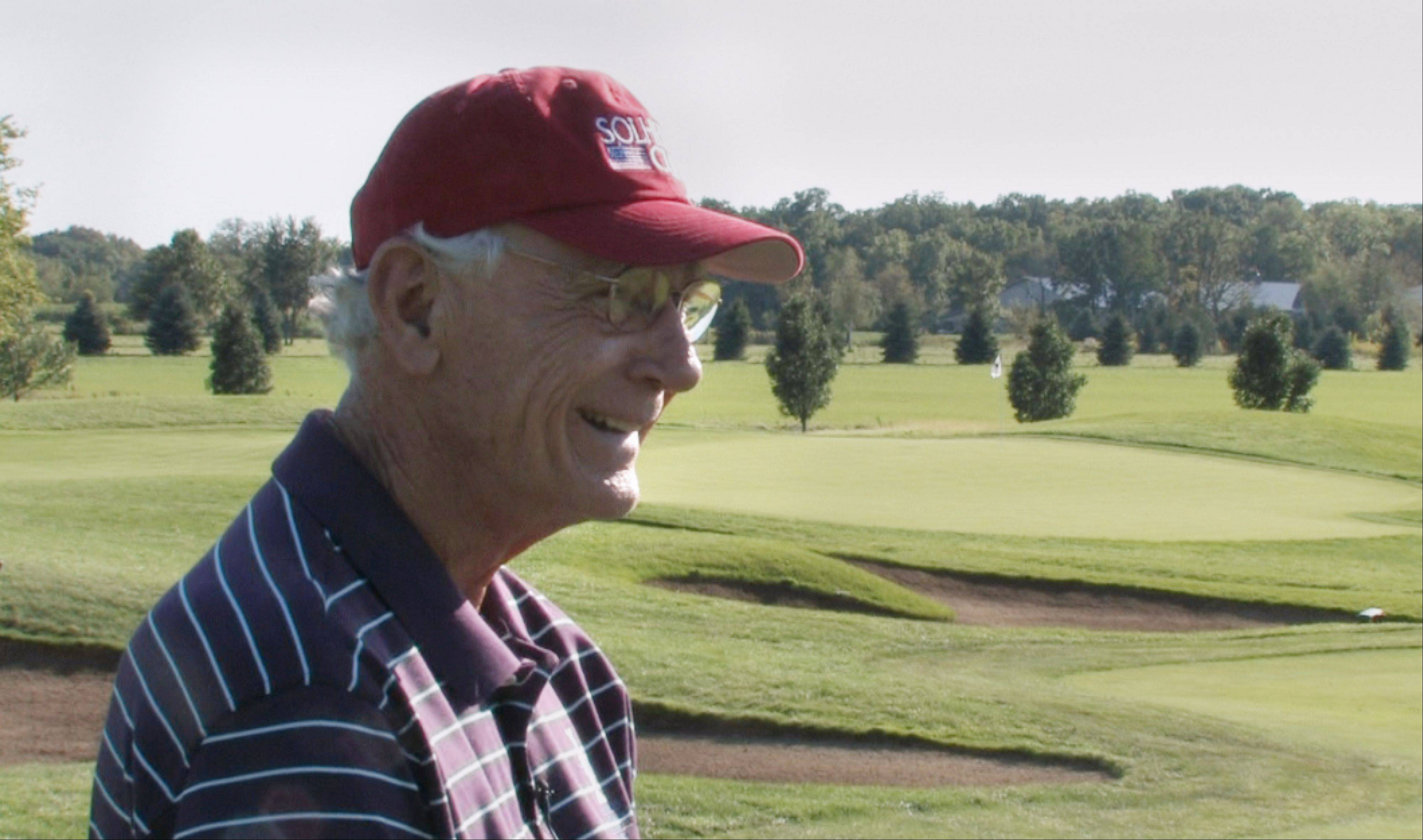 Rich Harvest Farms owner Jerry Rich is working hard to promote the International Crown golf event coming to his course in 2016, and working to see that it comes back often.