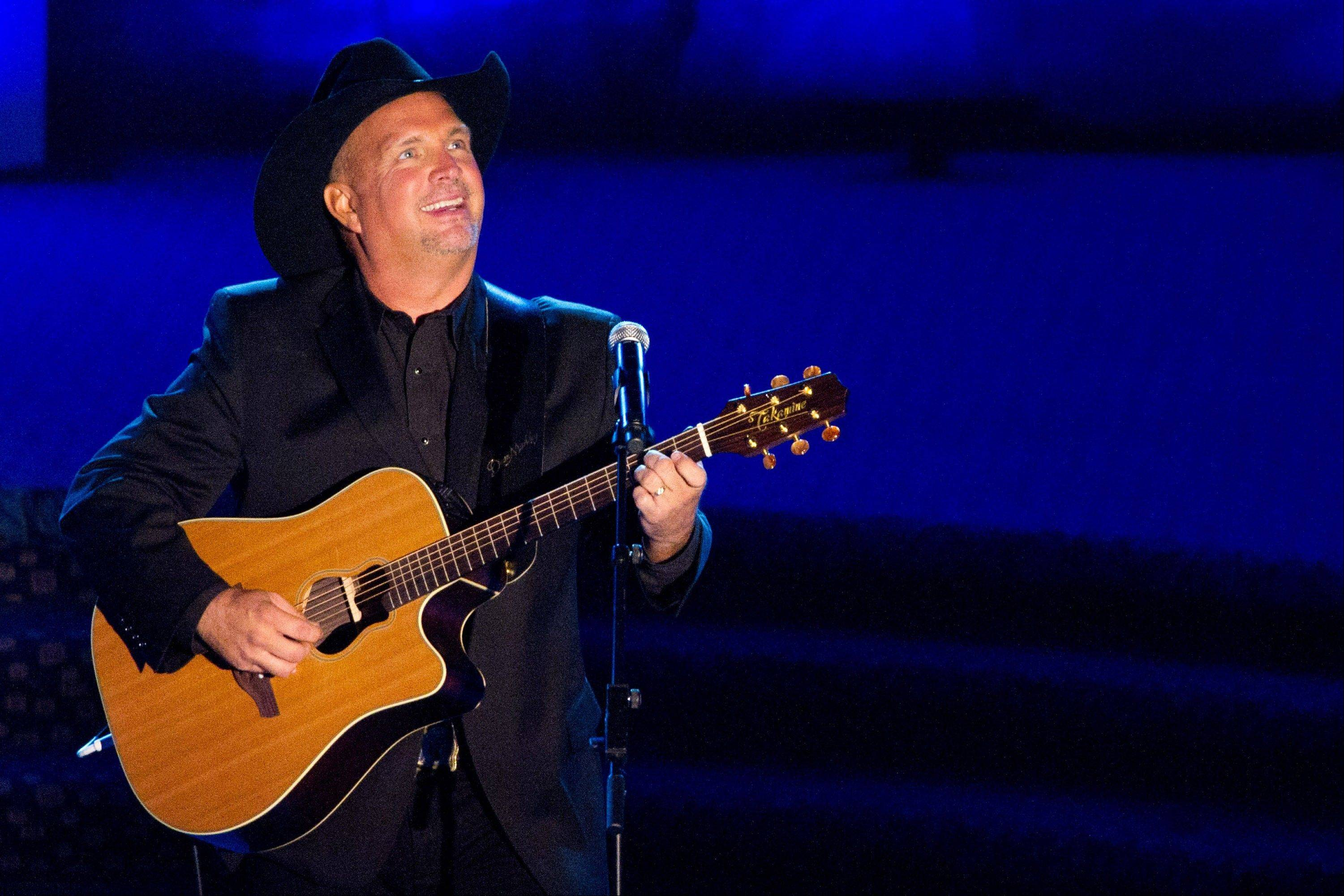 "In stores Thursday is Garth Brook's ""Blame It All On My Roots"" eight-disc box set containing a blast of newly recorded material. Brooks heads up a concert special Friday that CBS will broadcast live from the Wynn resort in Las Vegas."