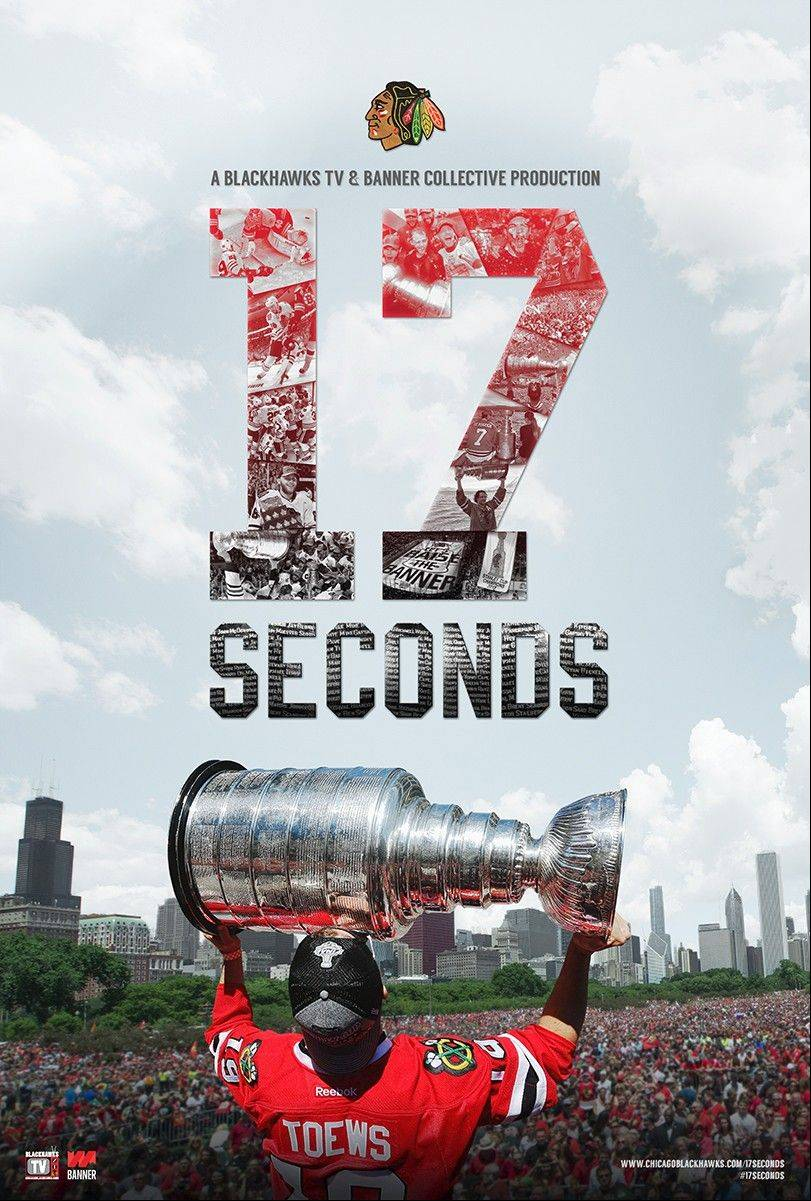 "The Chicago Blackhawks held a premiere earlier this month at the Navy Pier IMAX Theatre to showcase their one-hour film, ""17 Seconds."" The DVD can be ordered online at blackhawksstore.com and will be available at all Blackhawks stores starting Friday."