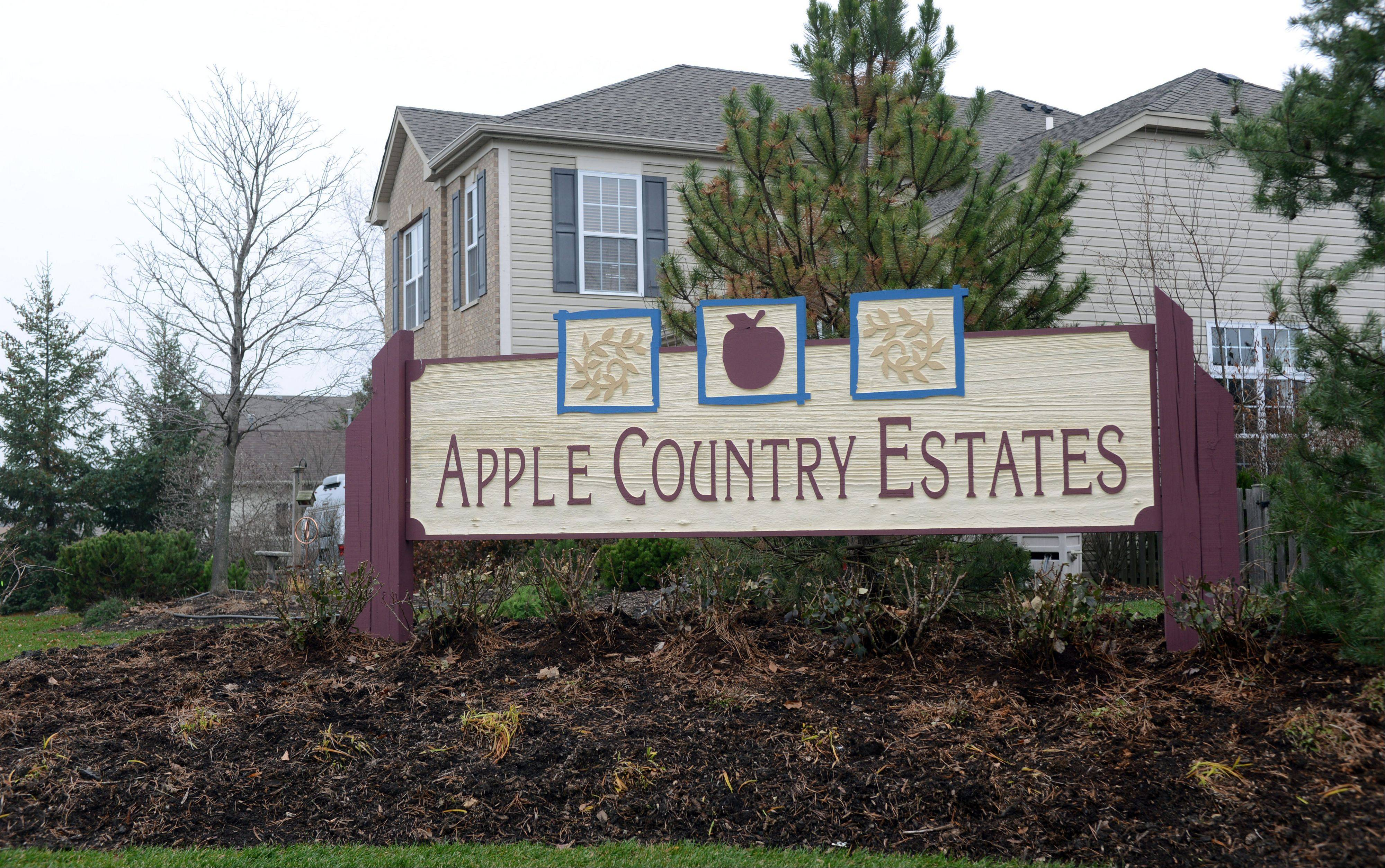 Apple Country Estates is a neighborhood of 82 homes just off Gossell Road inn Wauconda.