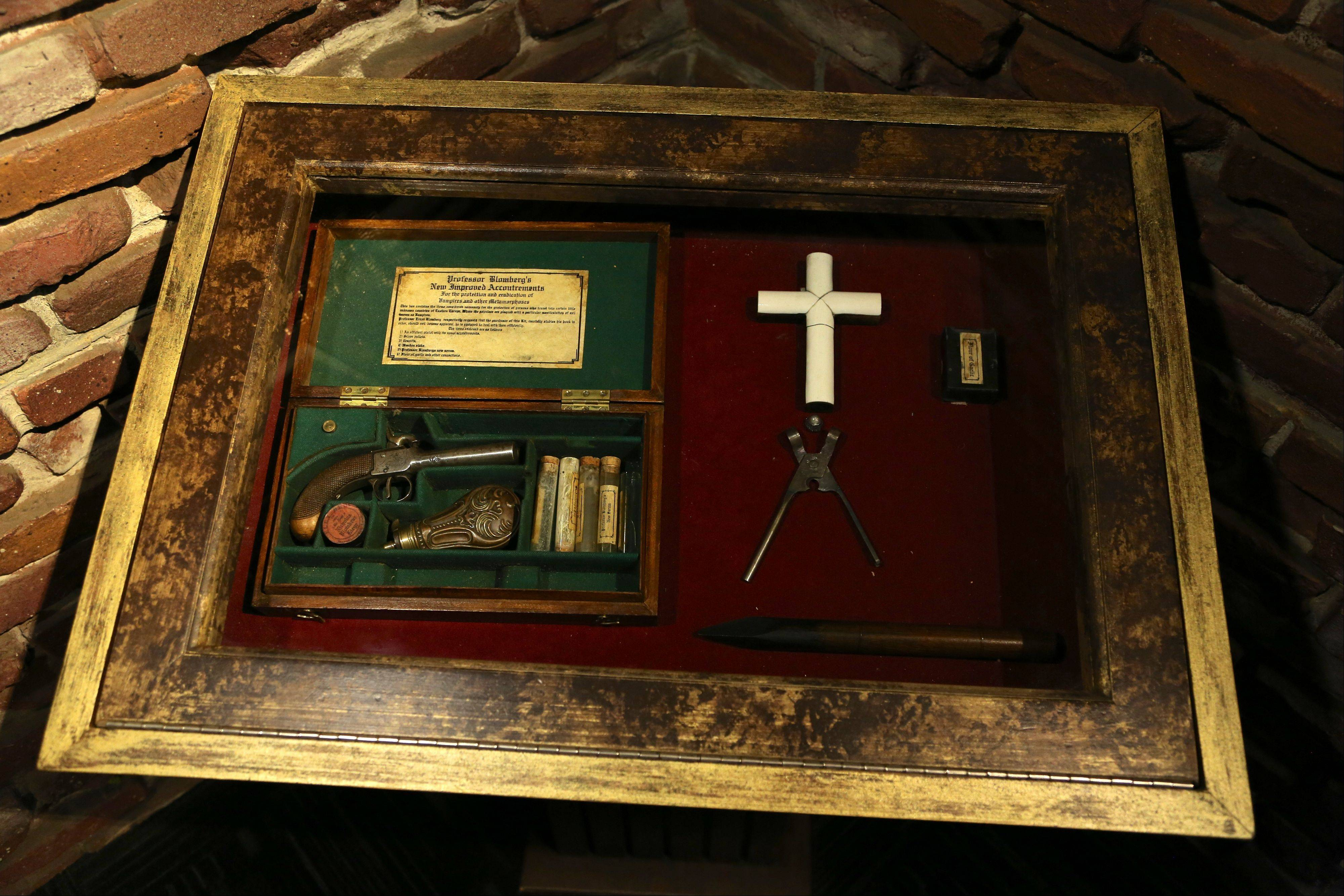 This undated image released by Ripley�s Times Square Odditorium shows a vampire killing kit from India.