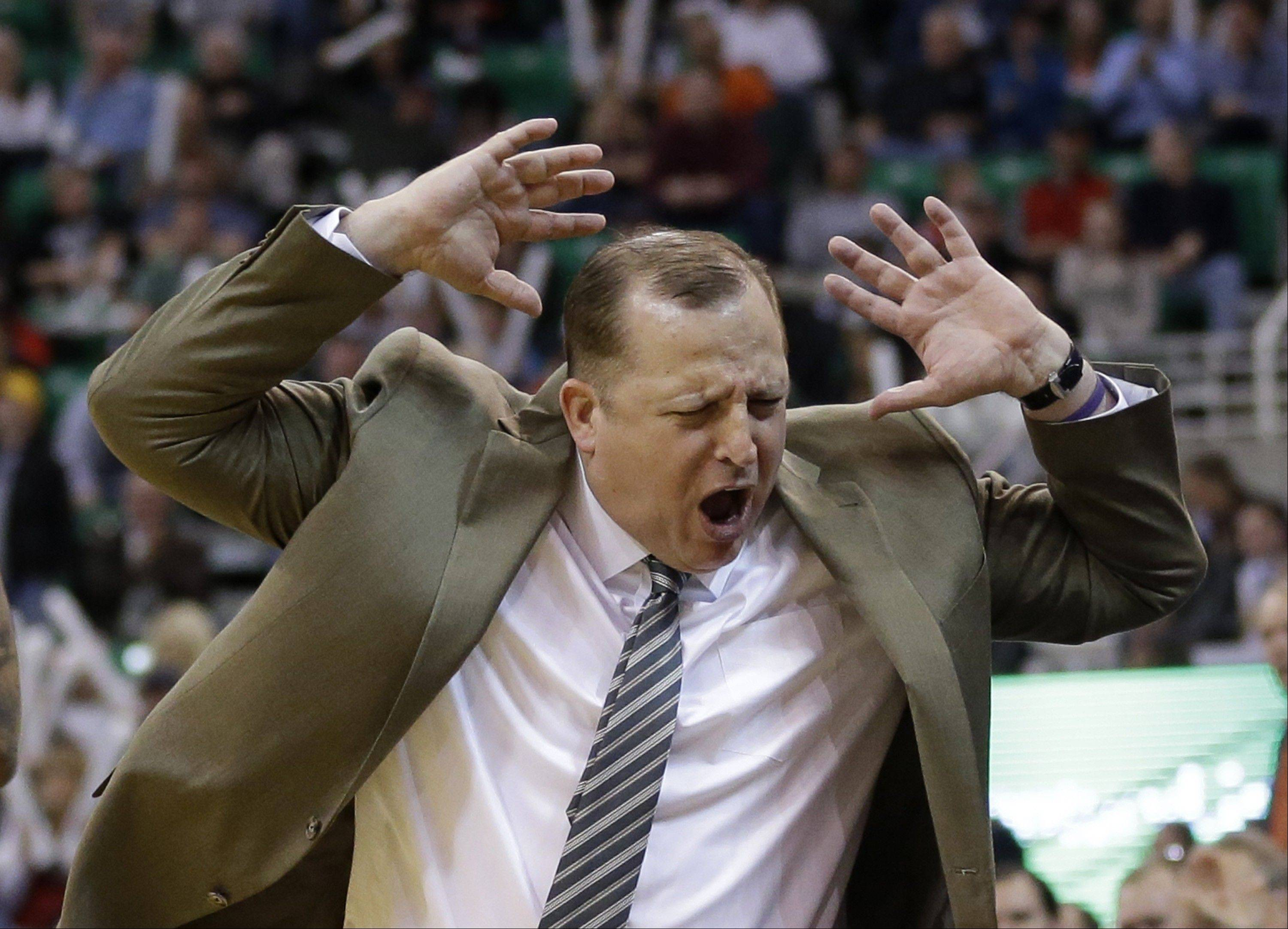 Don�t tell coach Tom Thibodeau that the Bulls should pack it in to receive a high pick in the NBA draft. �You never know how things unfold,� Thibodeau said.