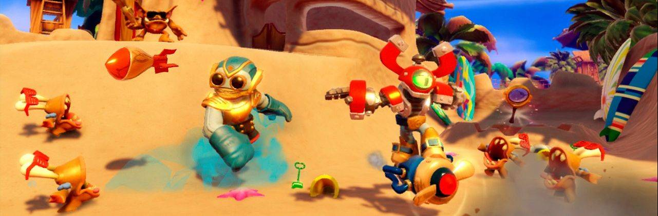 """Skylanders Swap Force."""