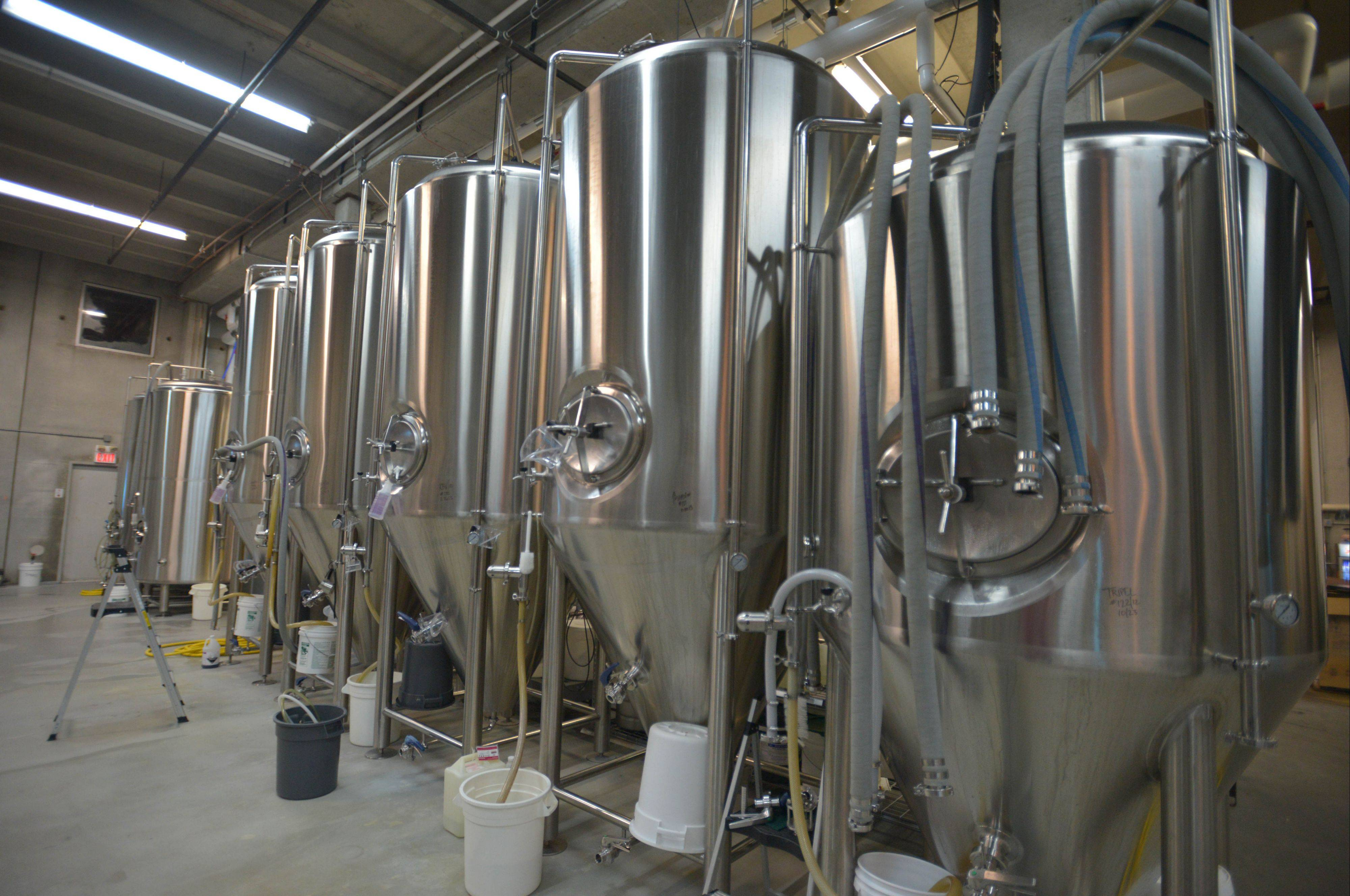 Solemn Oath brews its beers in Naperville.