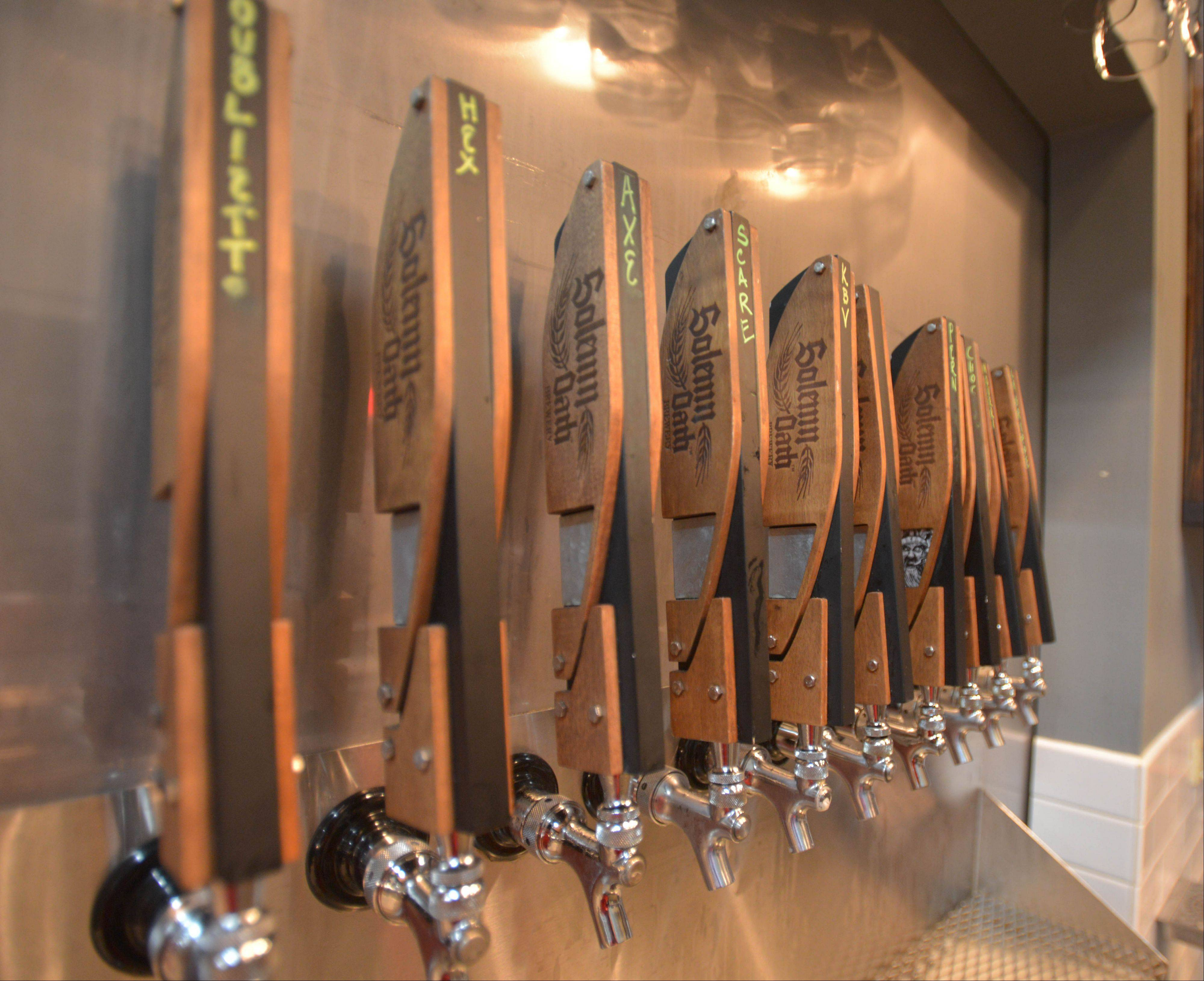 Beer fans will find a rotating selection at Solemn Oath Brewery's taproom in Naperville.