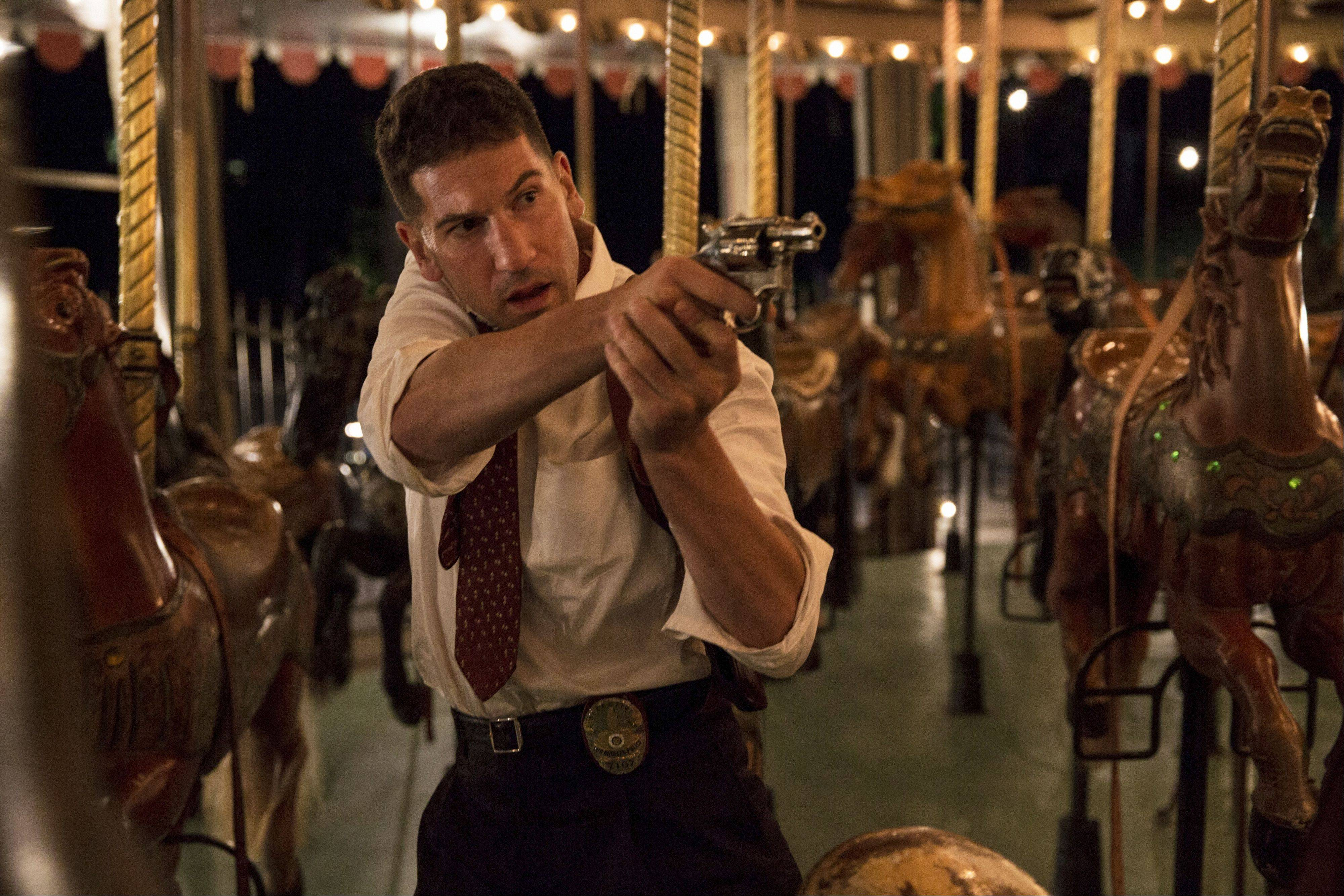"Jon Bernthal (""The Walking Dead"") stars as Joe Teague in ""Mob City,"" premiering Wednesday, Dec. 4, on TNT."