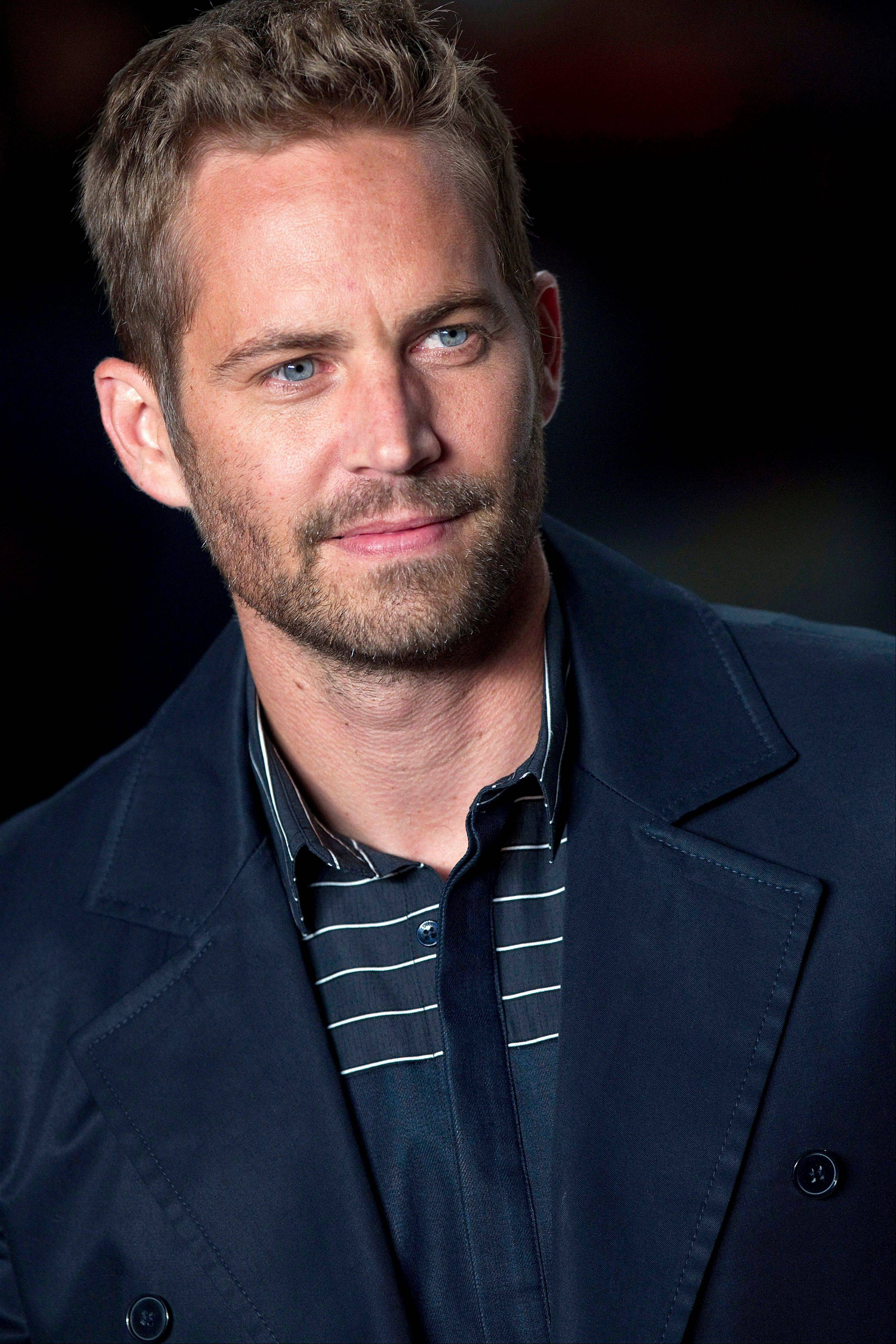Actor Paul Walker, 40, dead in car crash