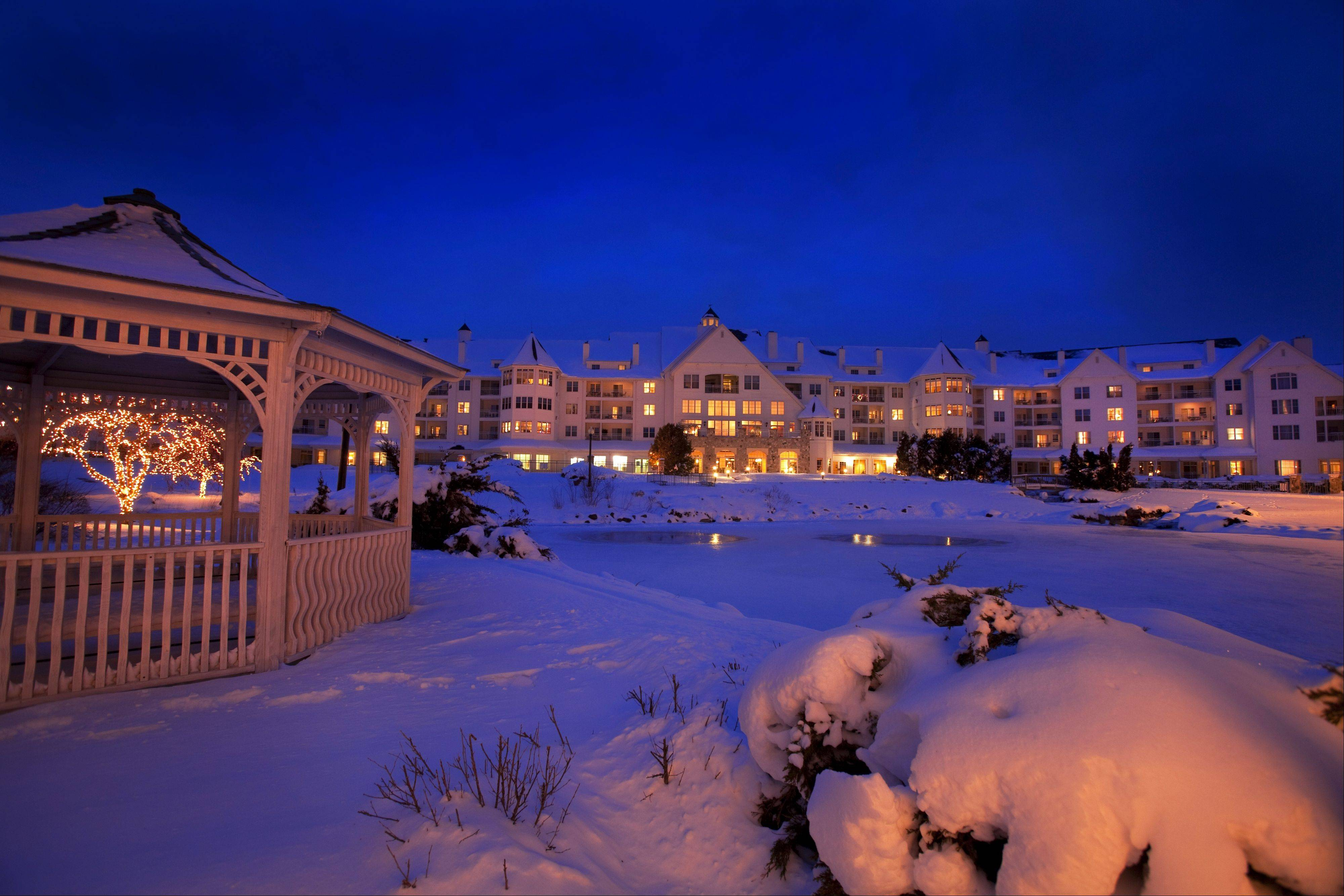 The Osthoff Resort's Old World Christmas Market Dec. 6-15 in Elkhart Lake, Wis., is a Midwestern take on the celebrated Christkindlesmarkt in Nuremberg, Germany.