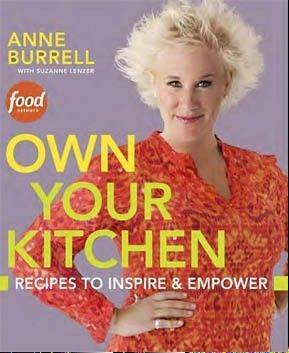 "Celebrity chef Anne Burrell signs copies of her latest book, ""Own Your Kitchen,"" at 7 p.m. Thursday, Dec. 5, at Anderson's Bookshop in Downers Grove."