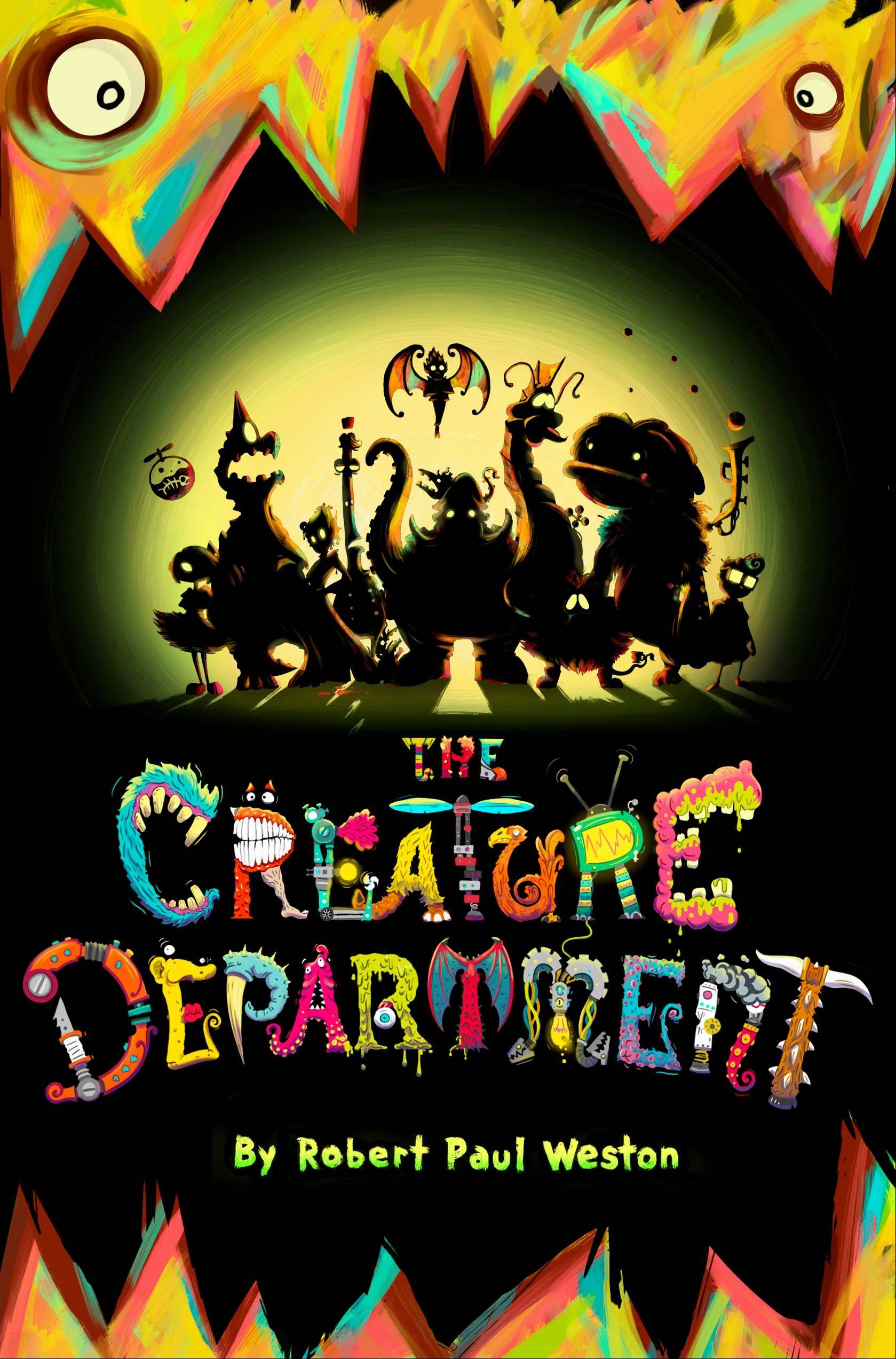 """The Creature Department"" is the latest release for children from Robert Paul Weston."