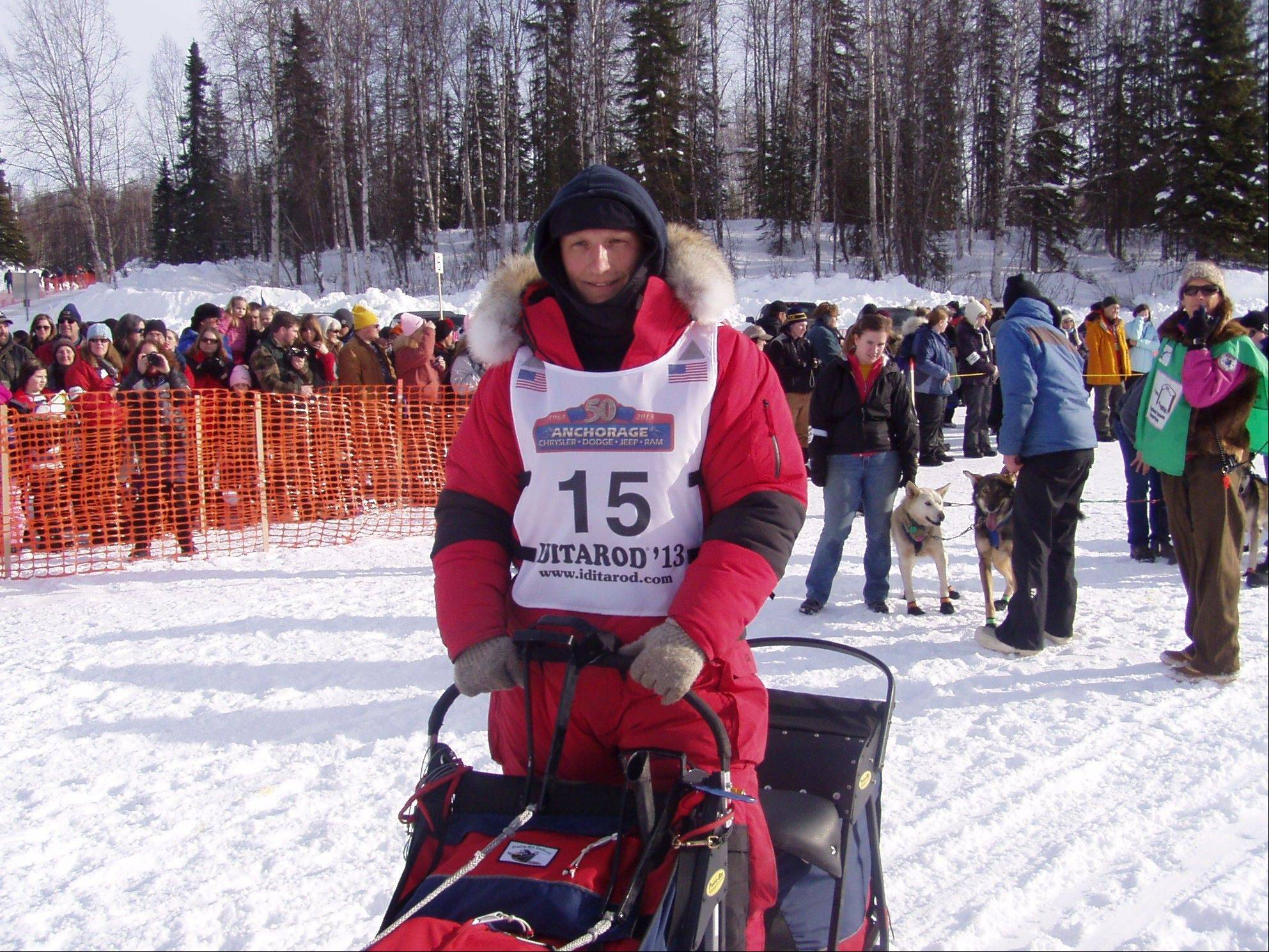 Bejna competed in the Iditarod for the first time last year but had to scratch after competing about 725 miles.