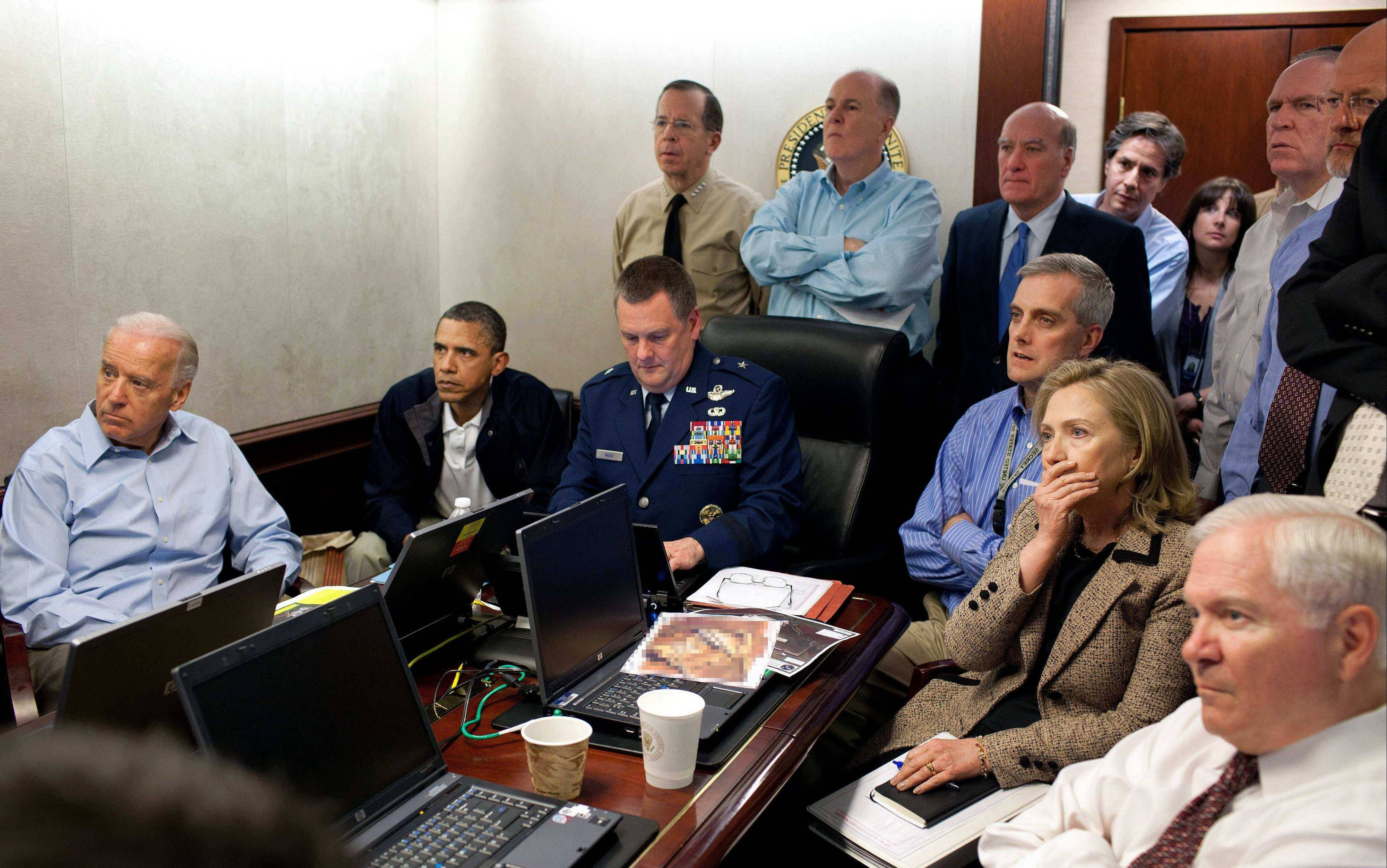 This May 1, 2011, image was digitally altered and released by the White House.