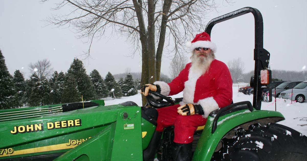 Suburban Christmas Tree Farms Celebrate Tradition
