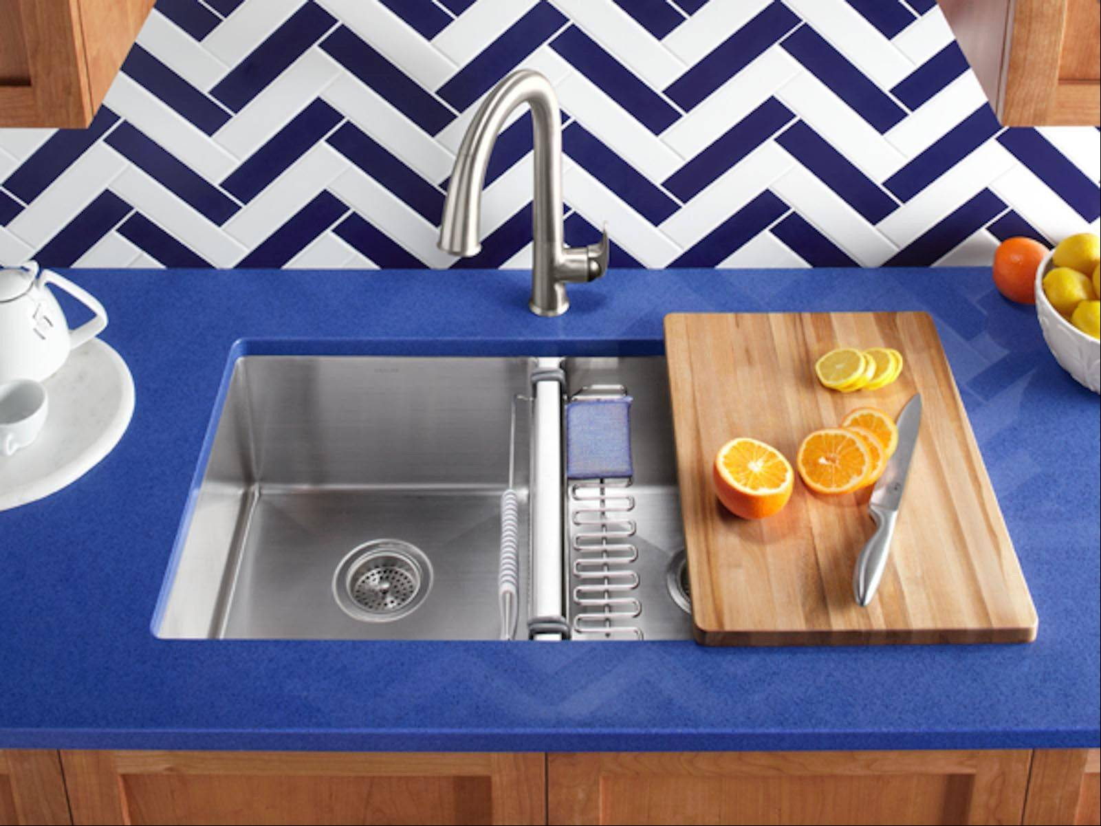 Courtesy of Kohler Choosing a quality faucet is key. However, most kitchen faucets can easily be replaced down the road.