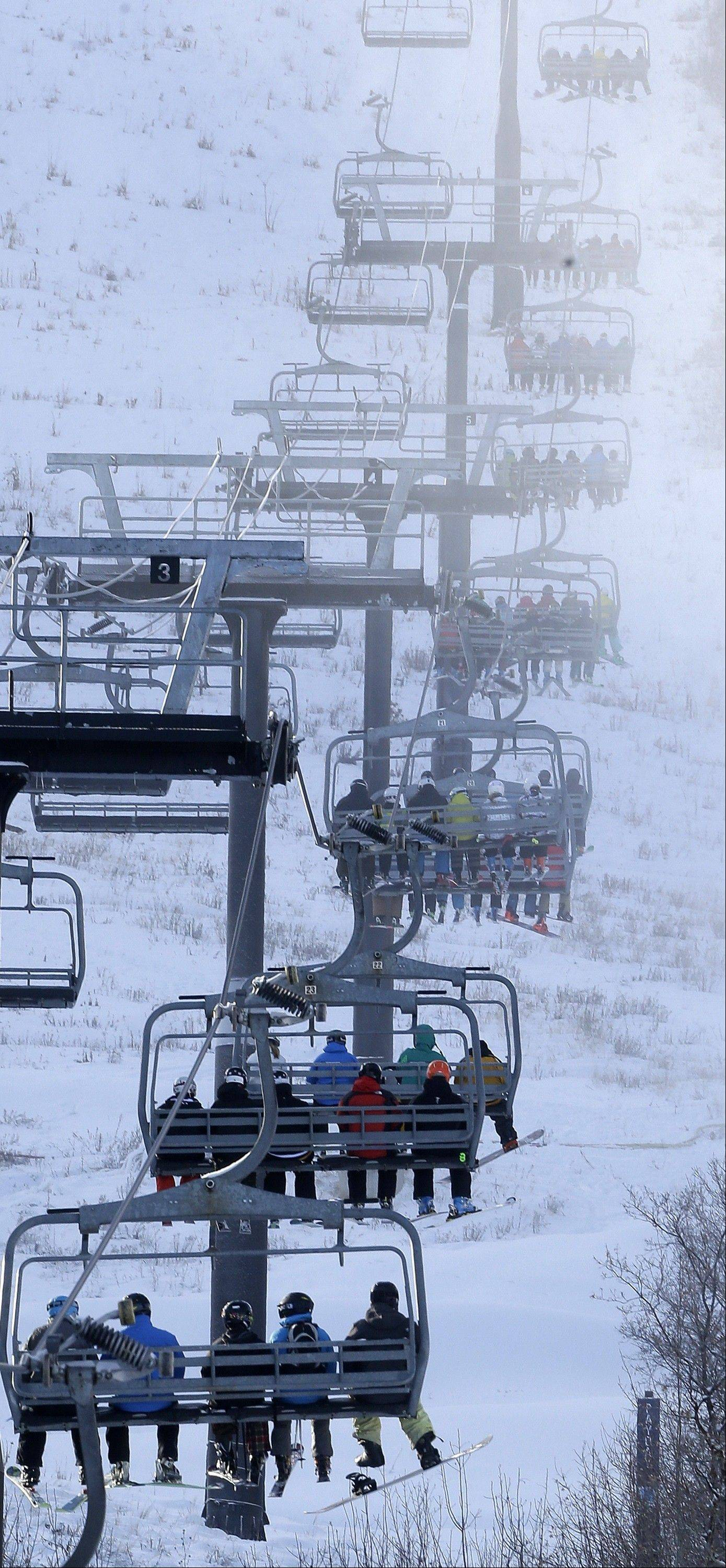 Various upgrades and cooperative weather are drawing more skiers to Utah this year.