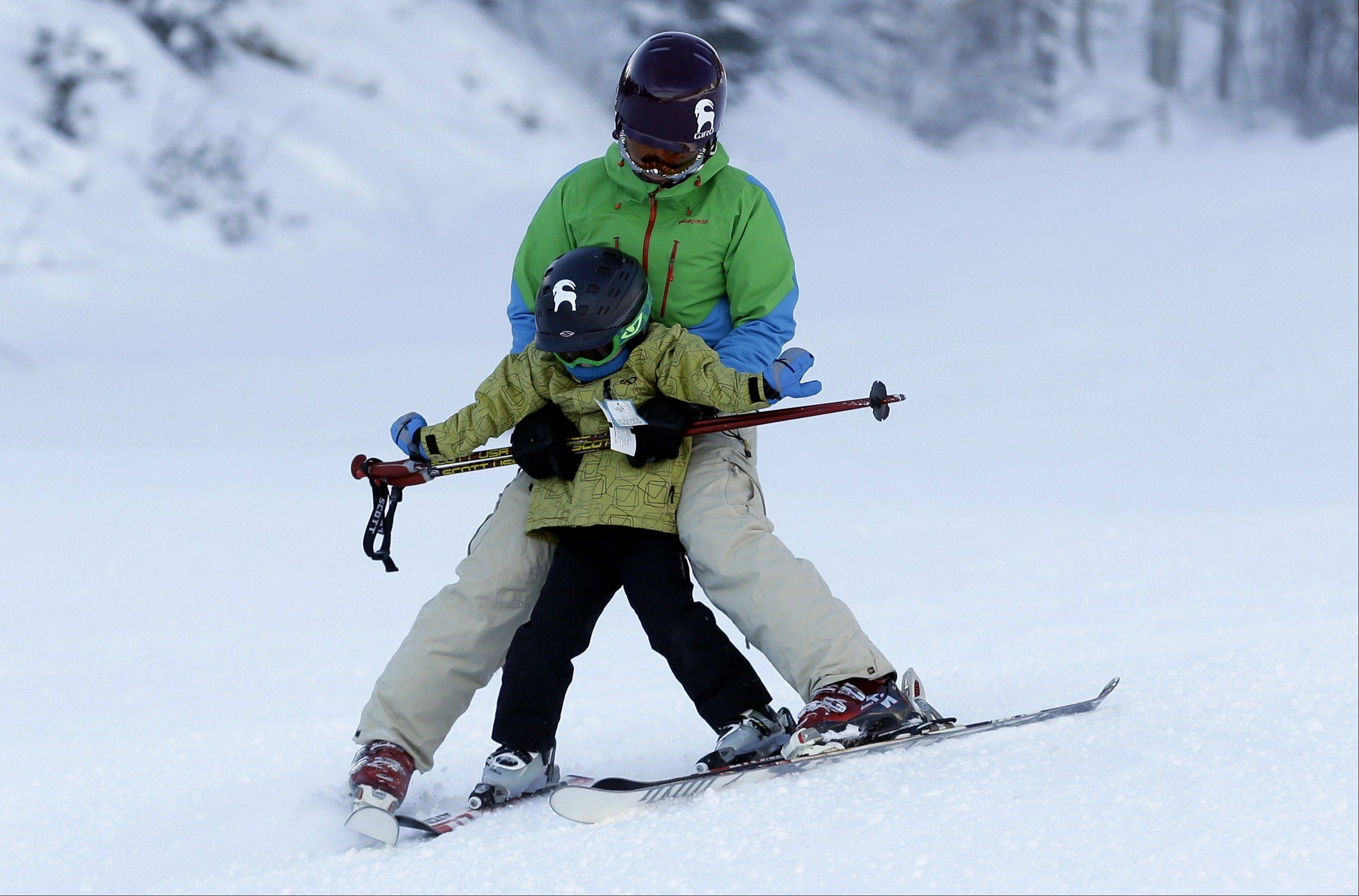The less-crowded slopes in Utah, such as at the Park City Mountain Resort, make it easier for families to ski together.