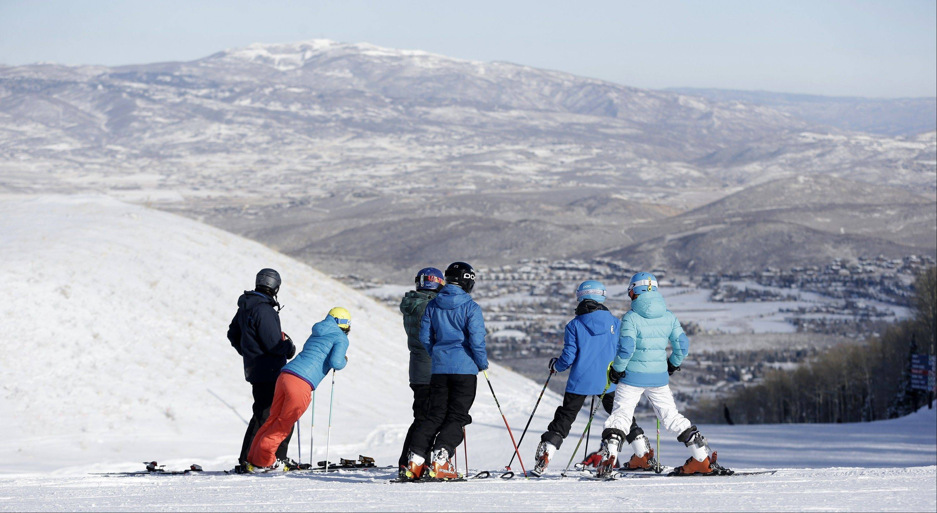 Skiers of all ages try their hand at Park City Mountain Resort in Park City, Utah. Officials say season-pass sales are strong. Park City has booked 28 percent of the season for lodging already.