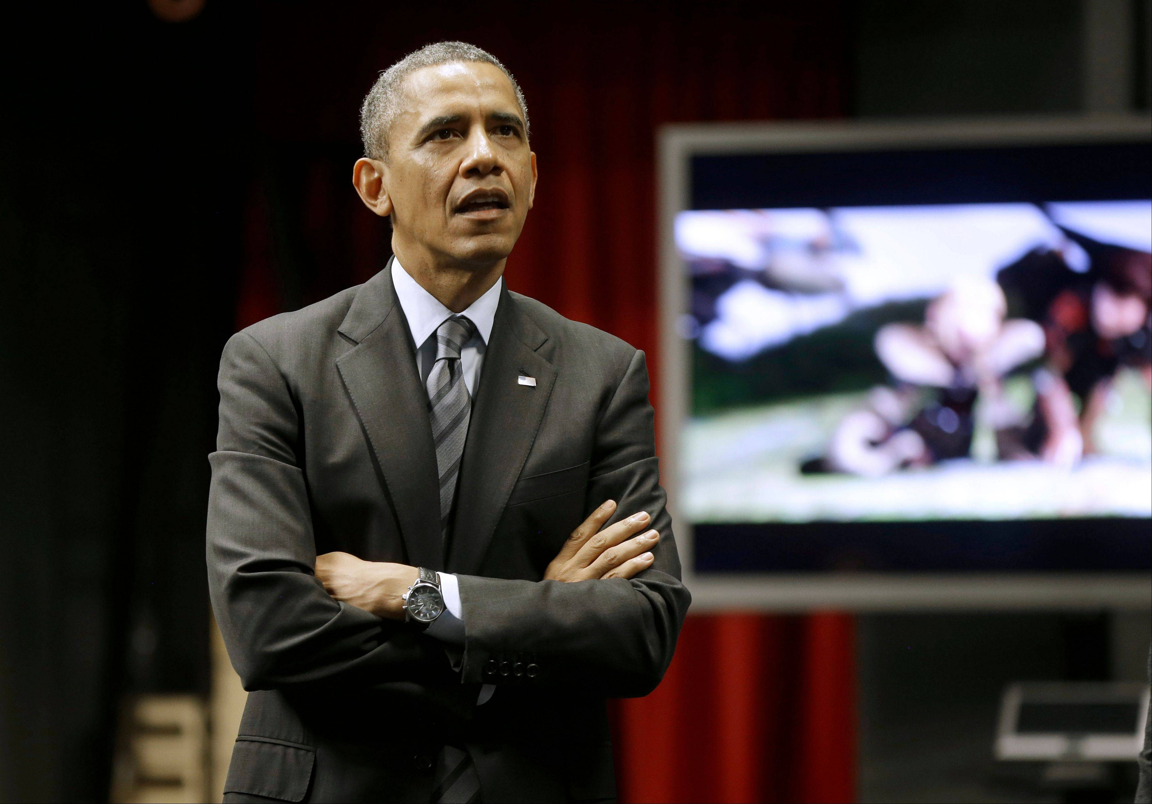The first year of President Barack Obama's second term has been mostly marked by setbacks and little achieved.