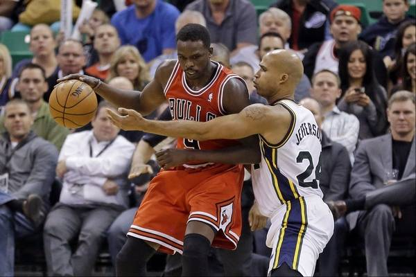 6f475227b Luol Deng s recent strong play makes it even less likely that he will be  with the