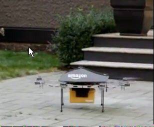 Amazon.com CEO Jeff Bezos wants his company to deliver goods — in 30 minutes or less — using drones.