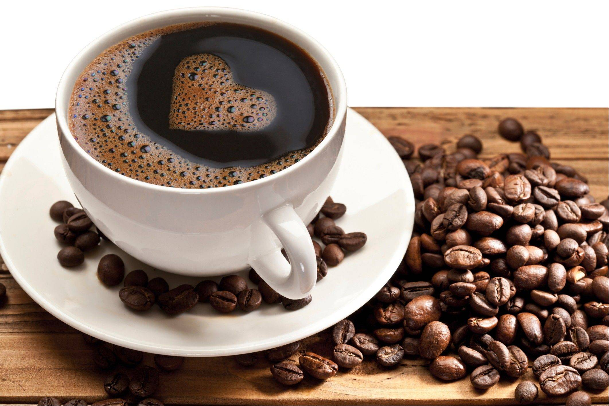 Caffeine in your coffee may reduce your risk of dying from cardiovascular disease, according to a recent study.