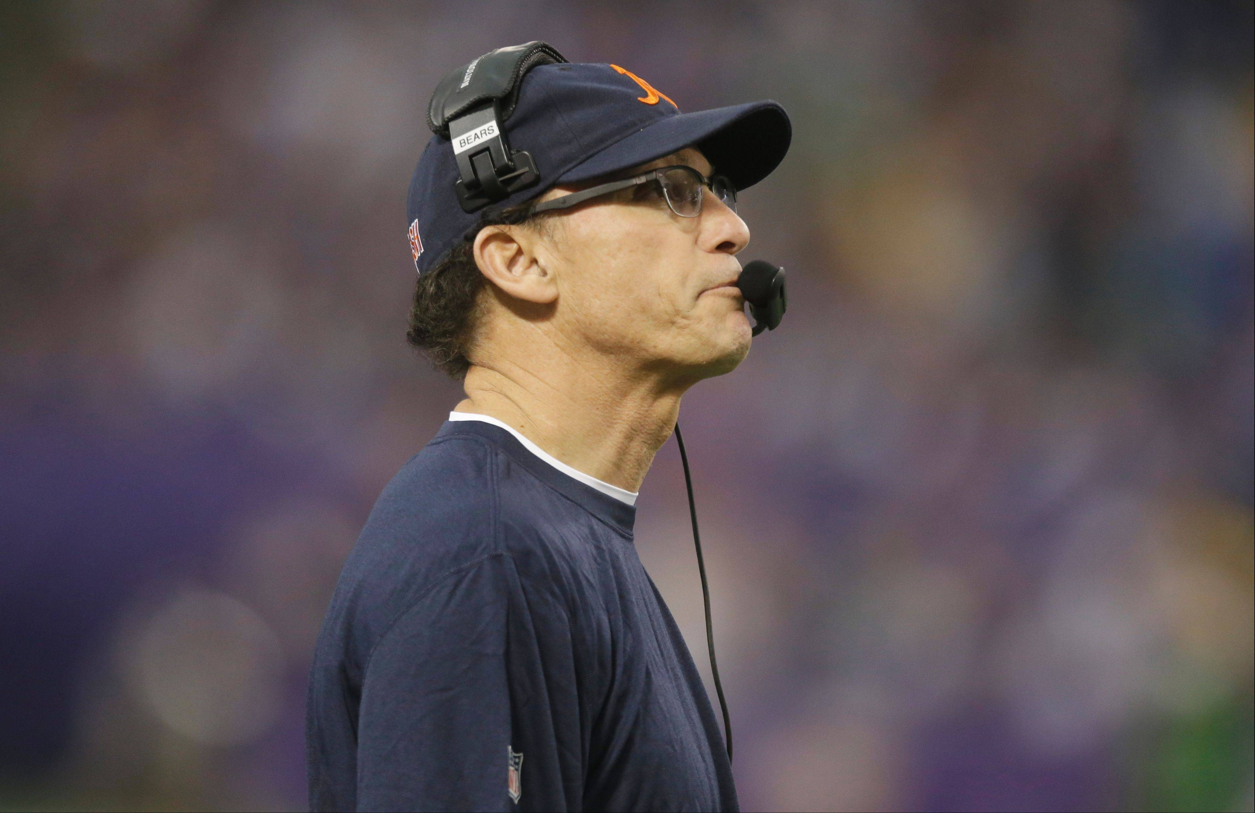 Bears coach Marc Trestman had much to answer for Monday, the day after his team had many opportunities to get past the Vikings but failed to close the deal.