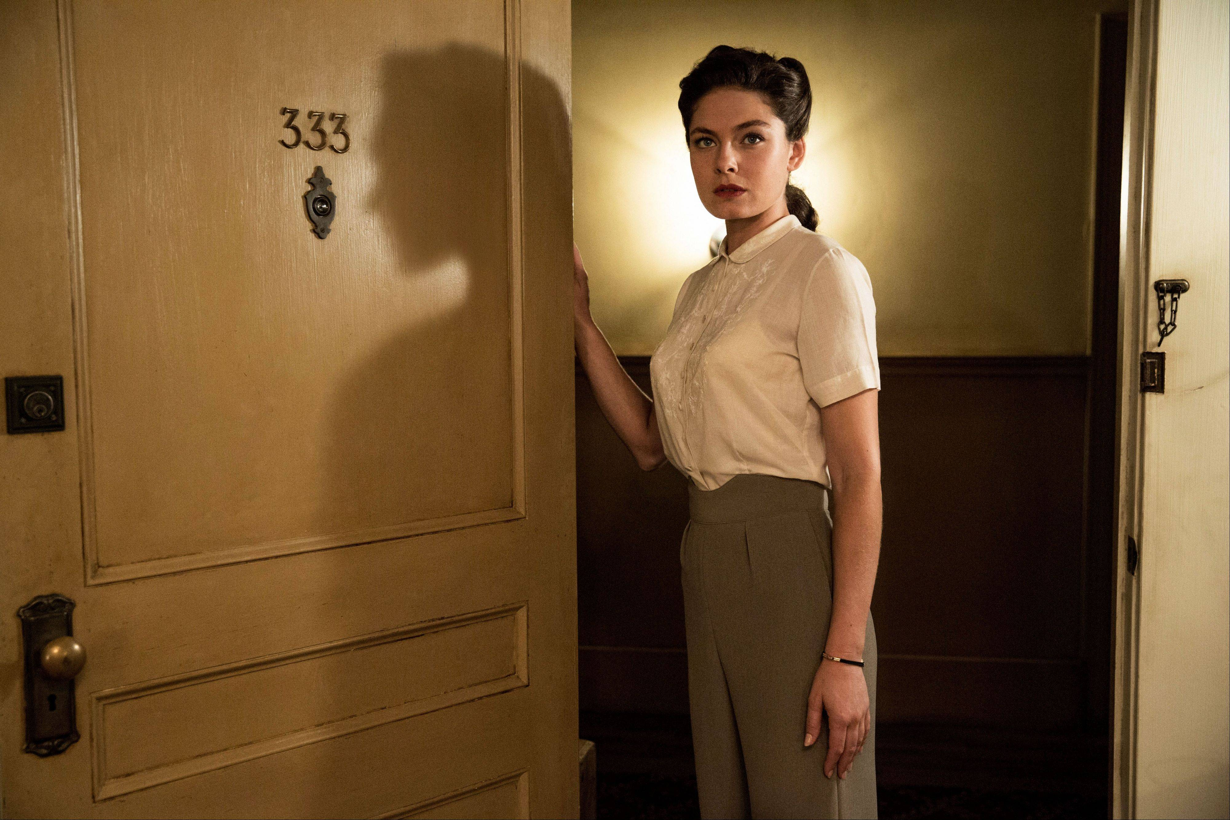 "Alexa Davalos stars in the new TNT drama series ""Mob City,"" which debuting Wednesday, Dec. 4, for a three-week run."