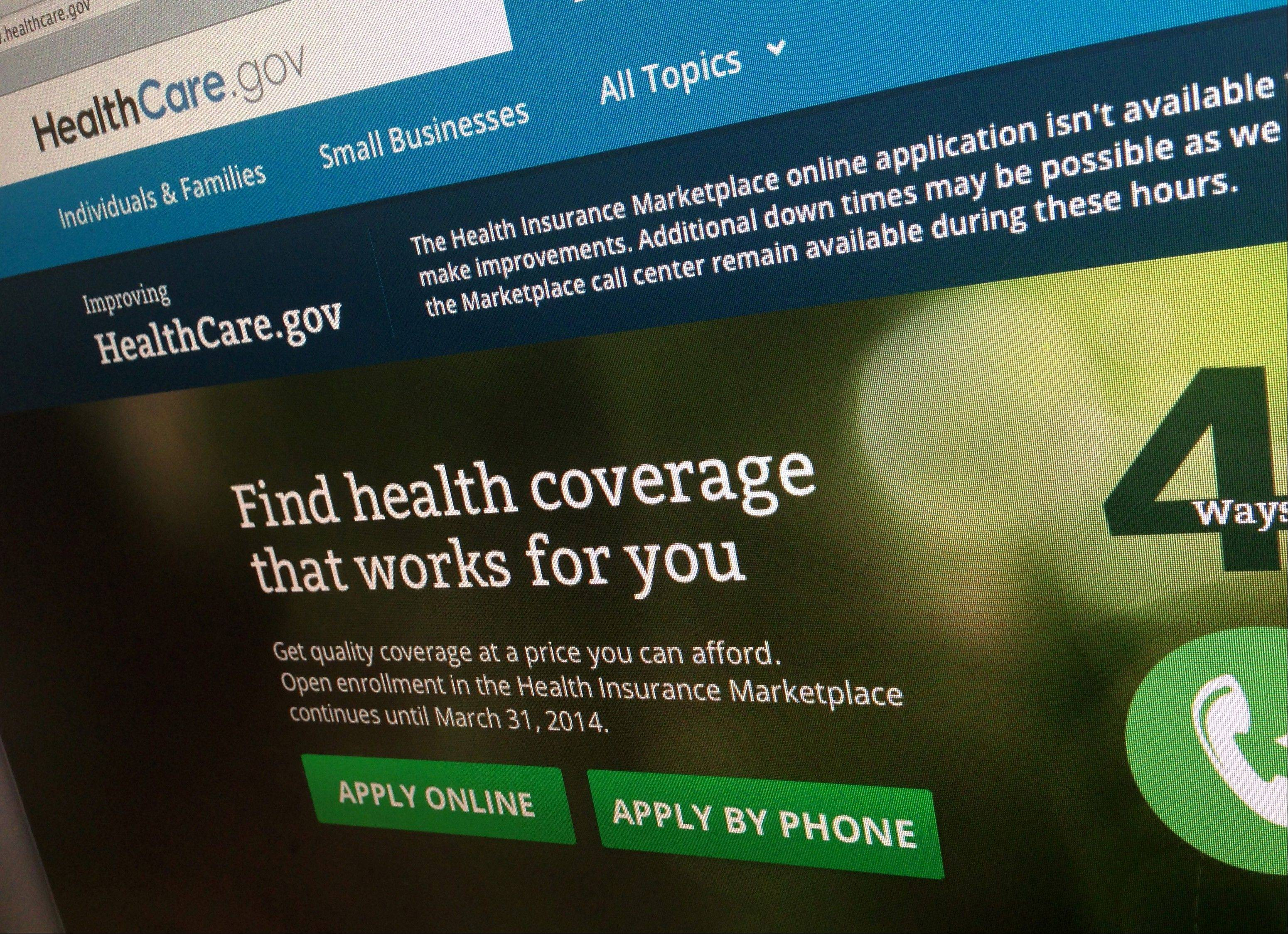 President Barack Obama's new and improved health care website will face its next big test when a year-end enrollment c