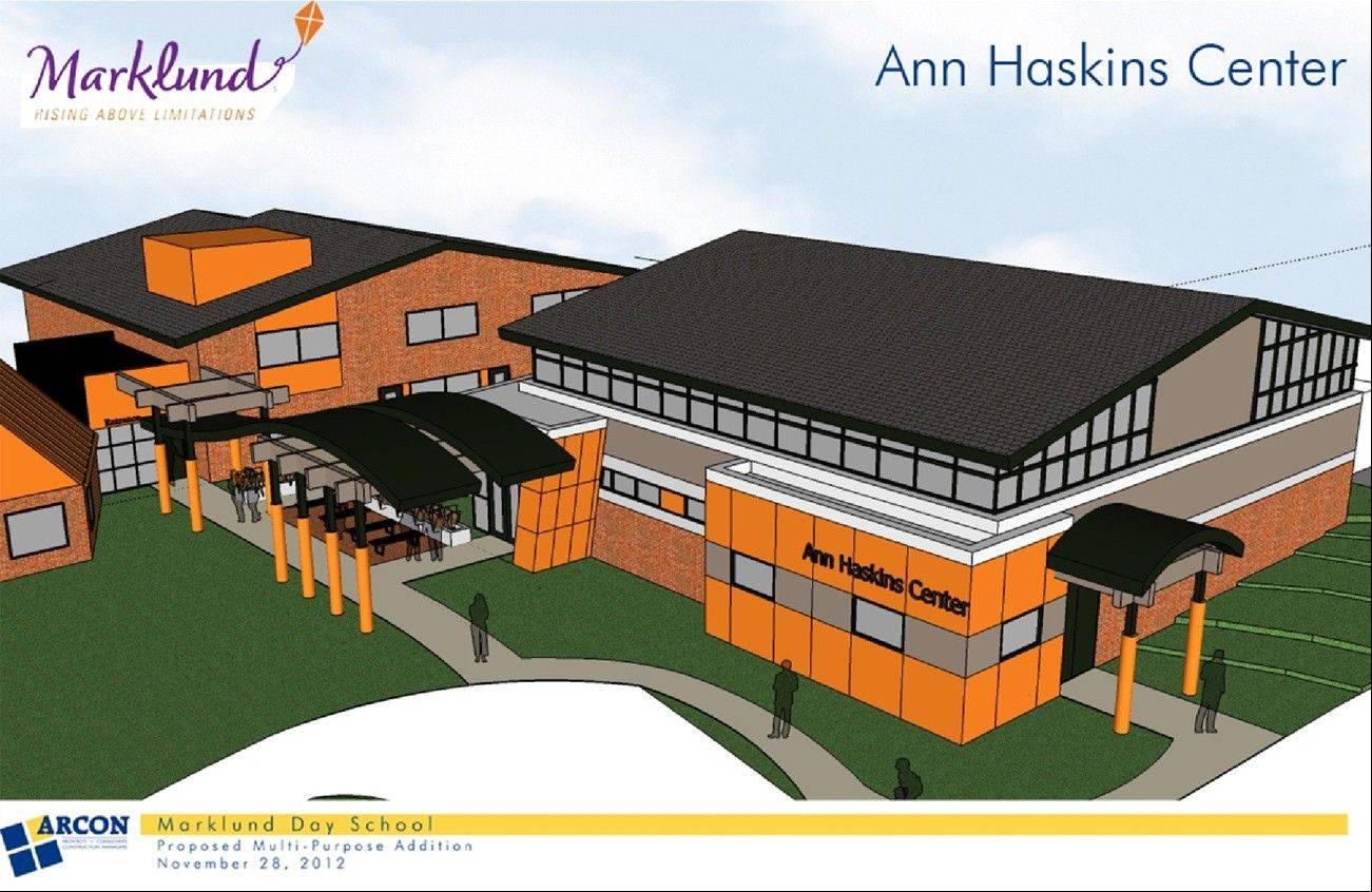 The proposed Ann Haskins Center would allow Marklund to expand its Life Skills Academy in Bloomingdale.