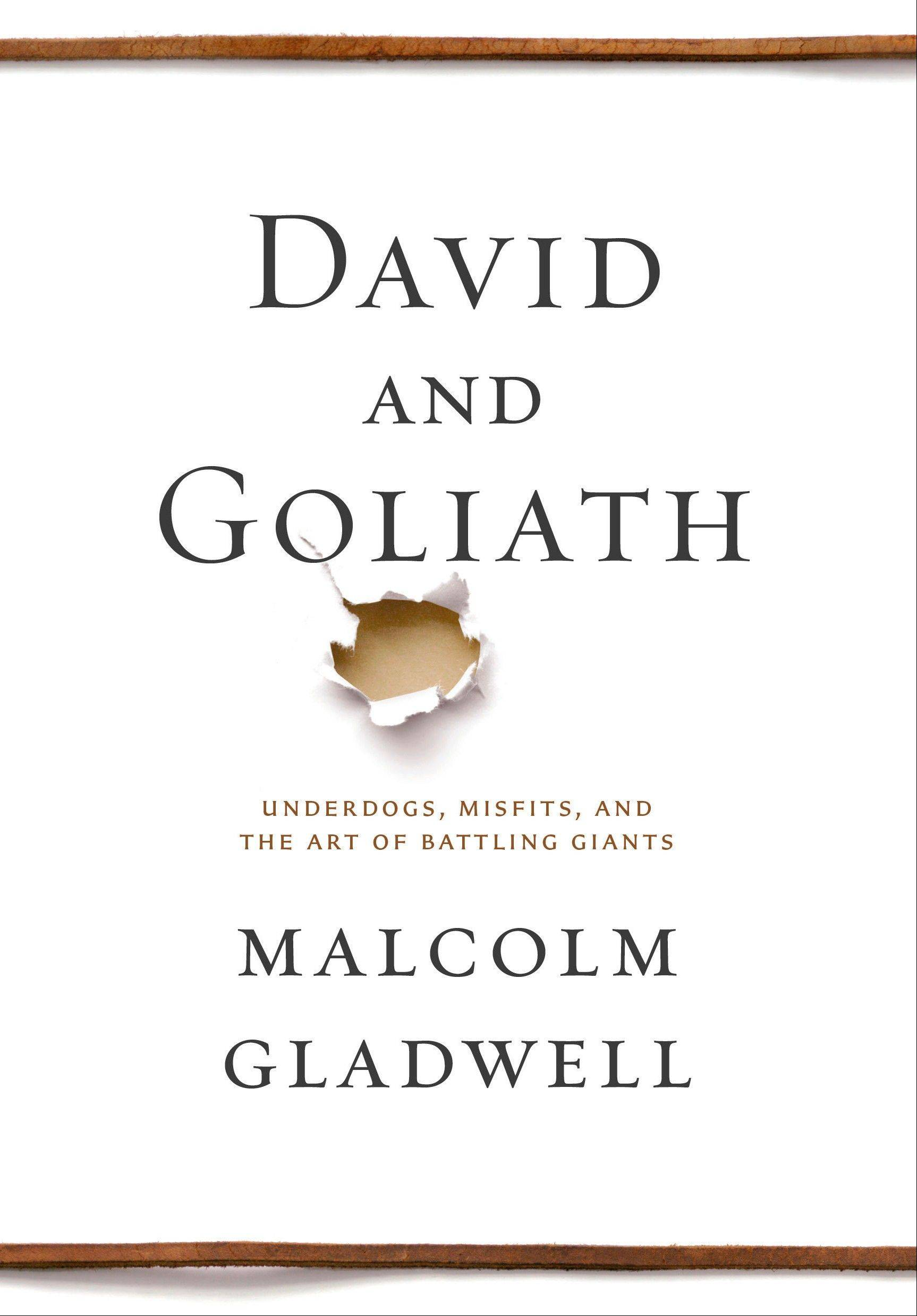 "Malcolm Gladwell, who authored ""David and Goliath,"" is a popularizer of scientific thought and research in best-sellers and The New Yorker magazine."