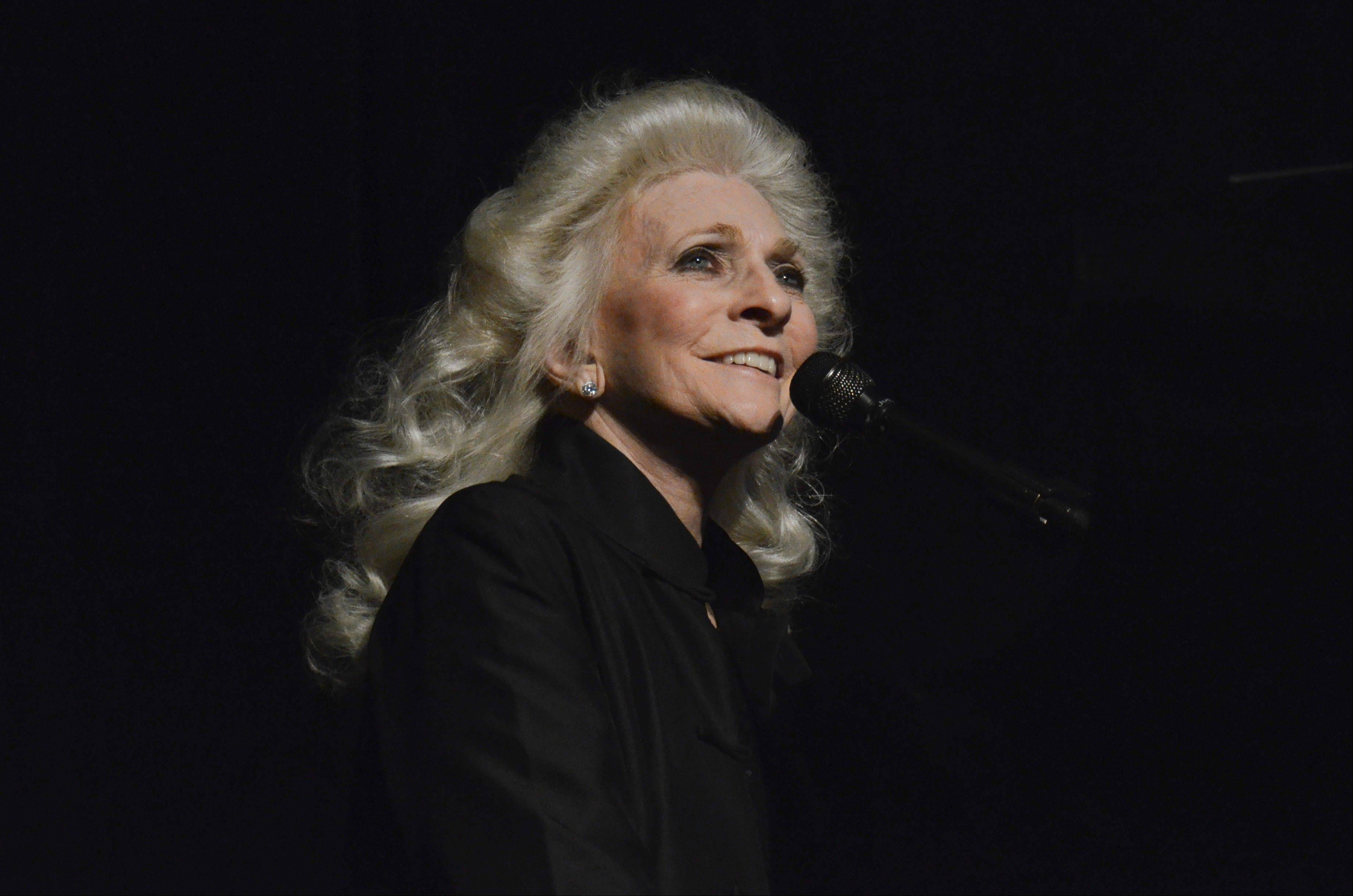 Songwriter Judy Collins performs on the same bill as Don McLean at the Arcada Theatre in St. Charles.