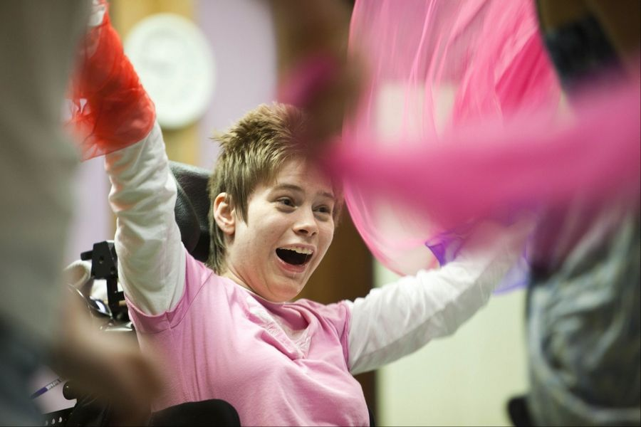 Artful Impact offers Spectrum programs that allow young people with special needs to explore freedom of movement and expression.