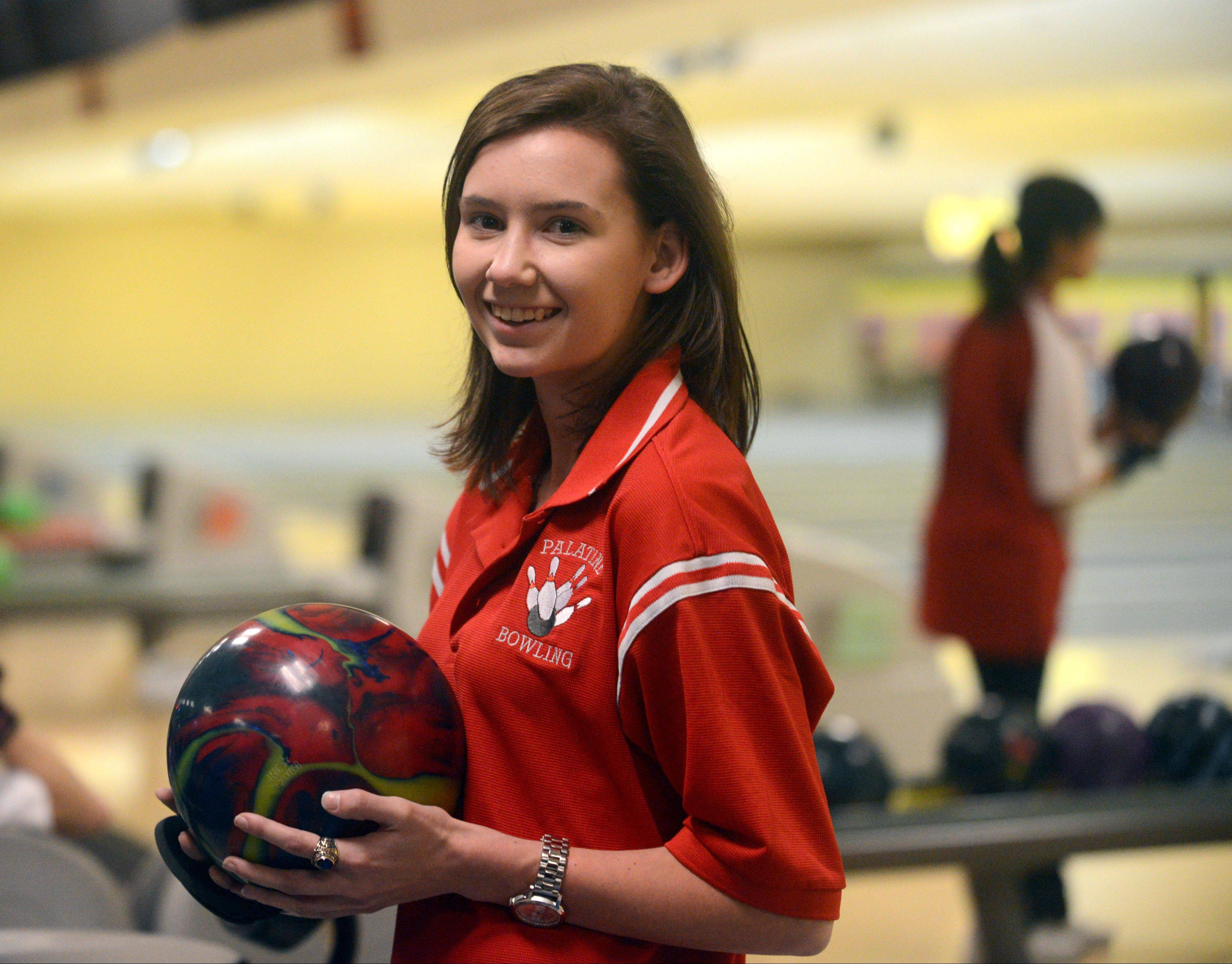 Katie Conrad is ready for her senior year at Palatine -- and her coach, teammates and teachers couldn't be happier she's returned to her hometown roots.