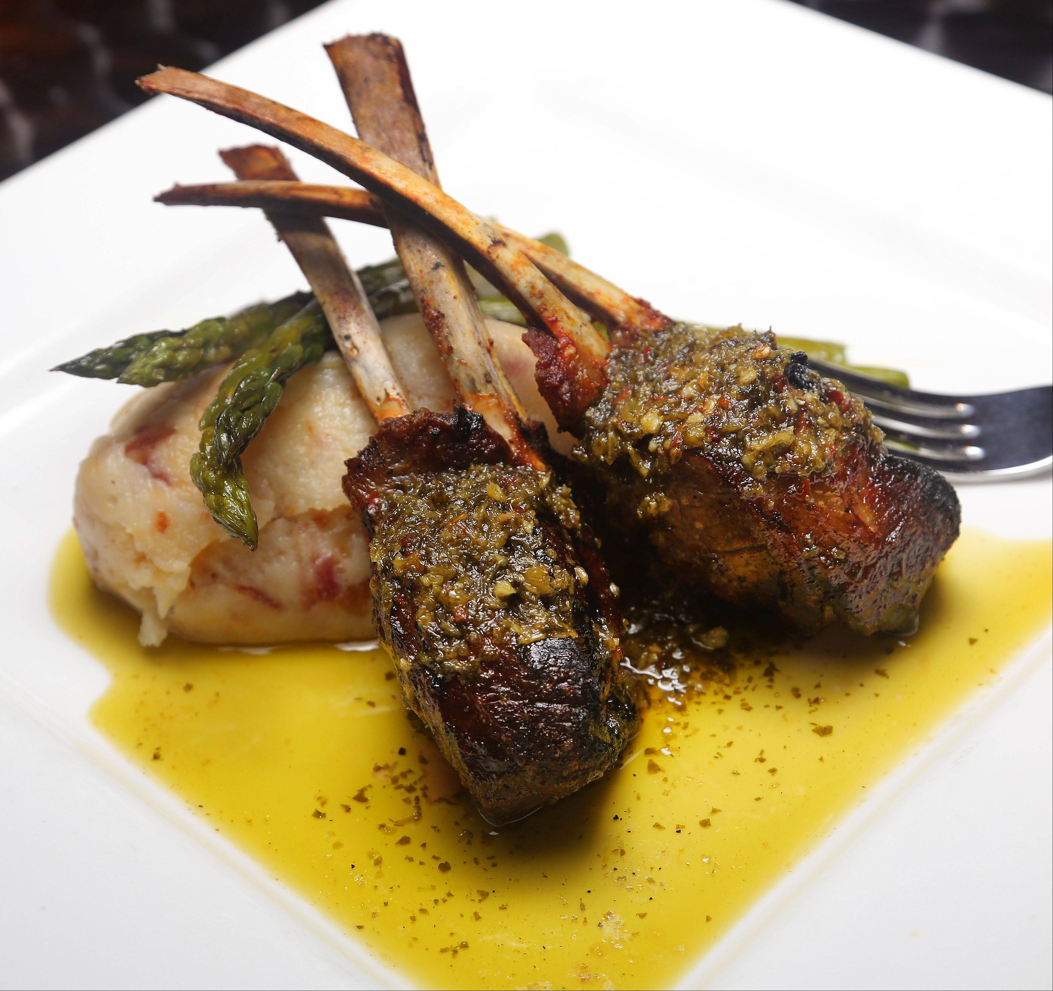 Grilled lamb chops take on an Asian flare at Spice Restaurant and Lounge in Gurnee.