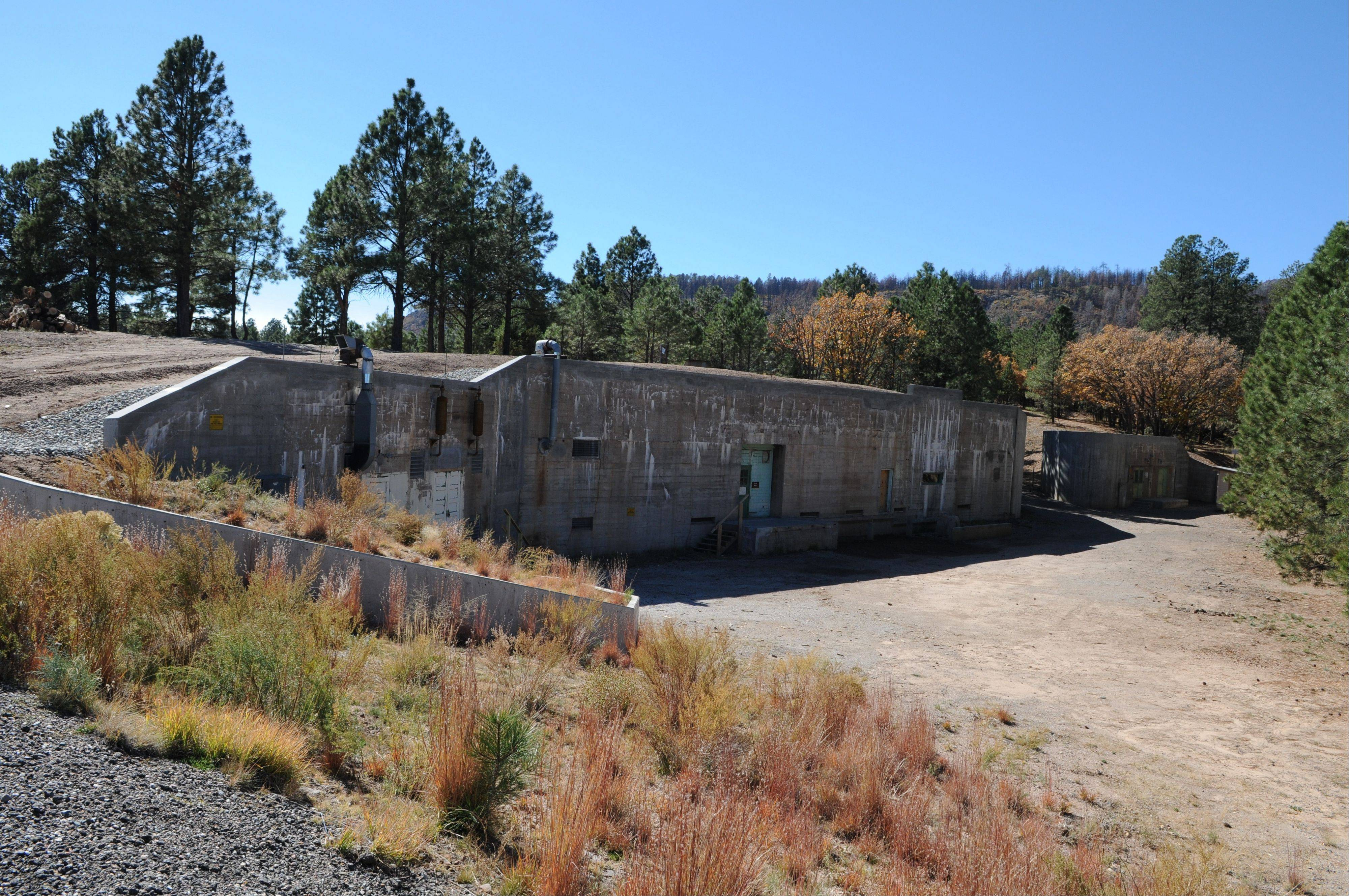 This �gun site� is where the bomb that was dropped on Hiroshima was assembled. The iconic areas scattered in and around the modern day Los Alamos National Laboratory are being proposed as sites for a new national park commemorating the Manhattan Project.