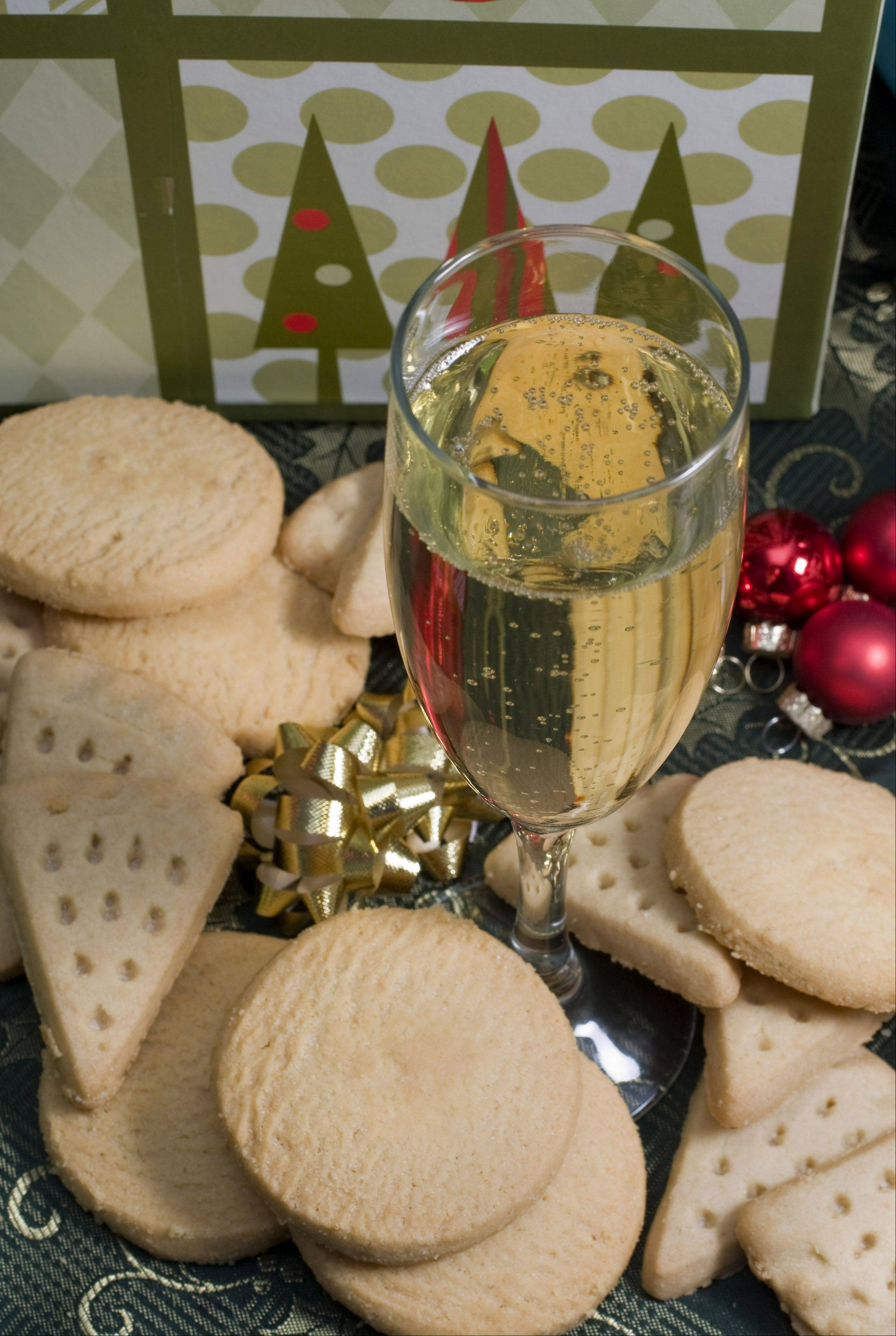 December is a popular month for sparkling wine.
