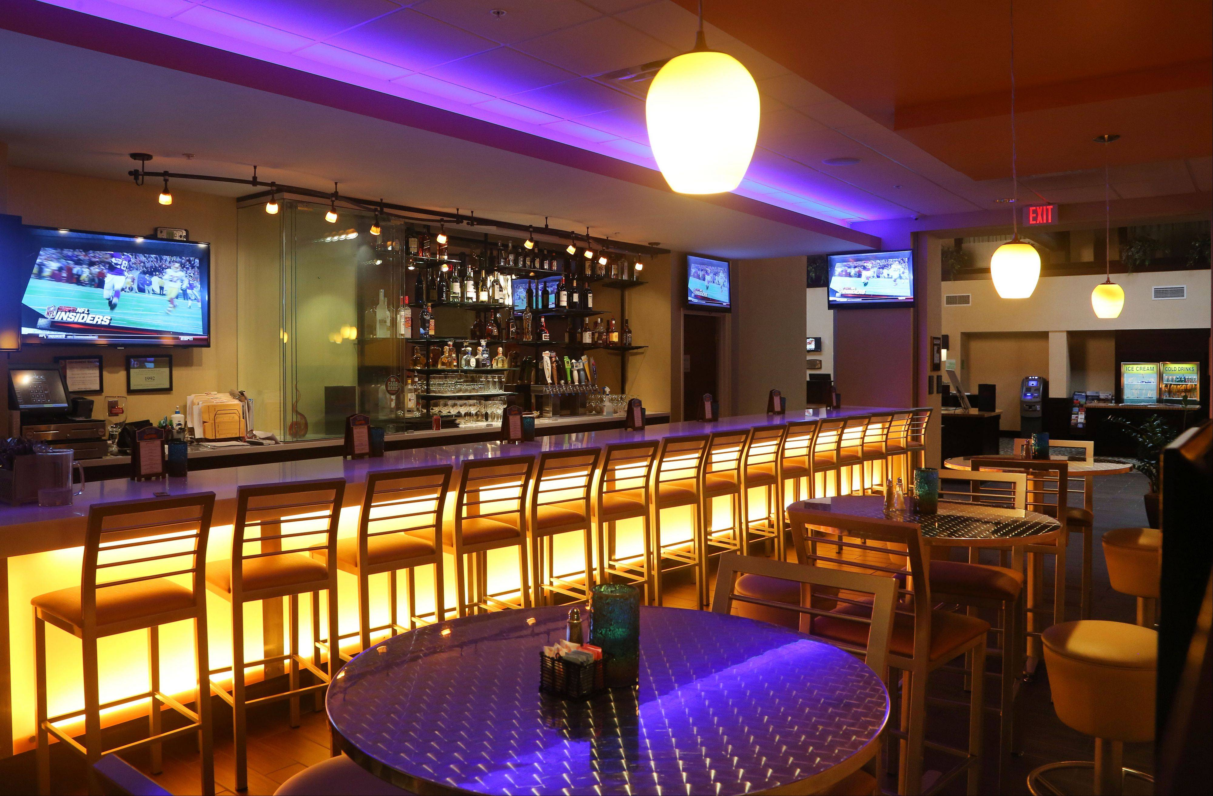 Craft beers are among the drink options at Spice Restaurant and Lounge in Gurnee.