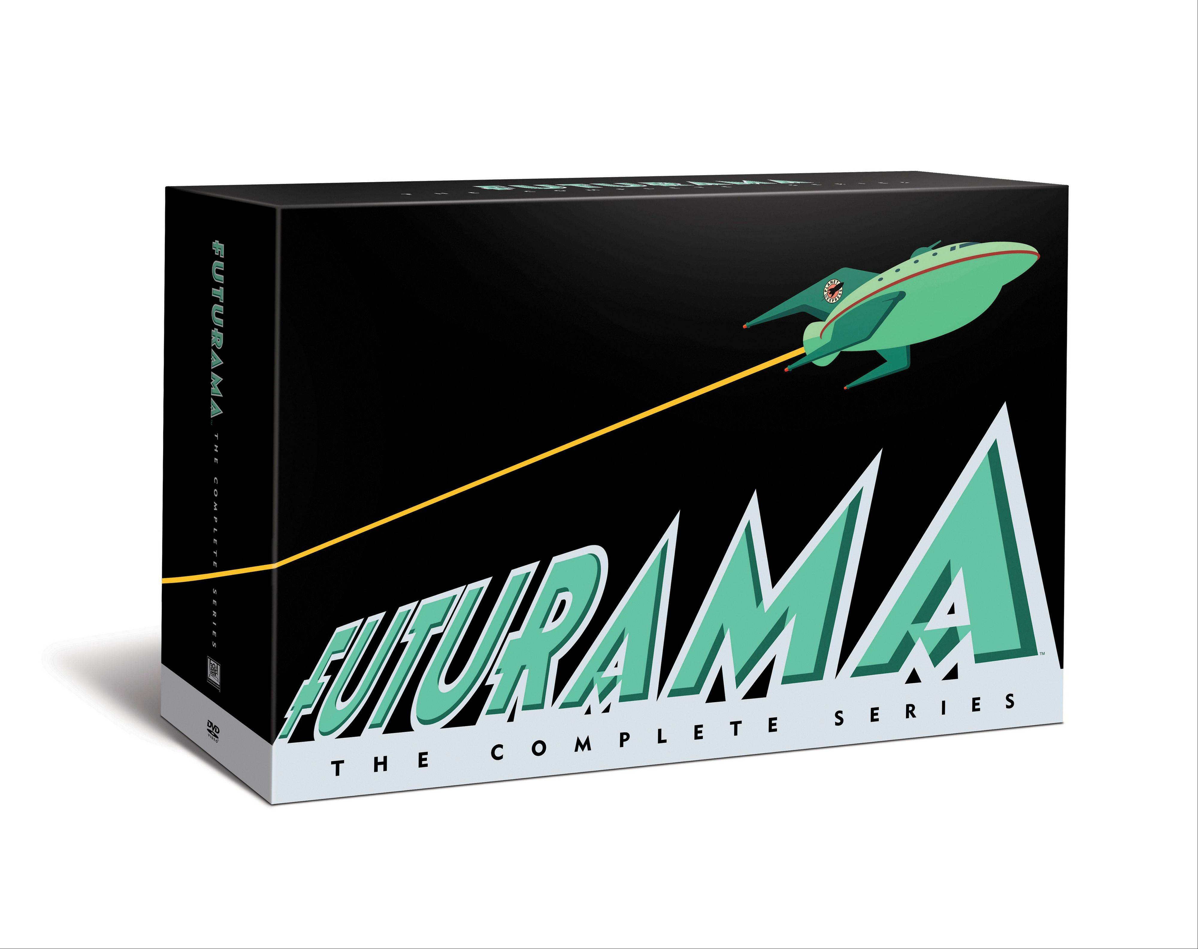 "The new ""Futurama"" box set includes all 124 episodes, plus four feature-length adventures."